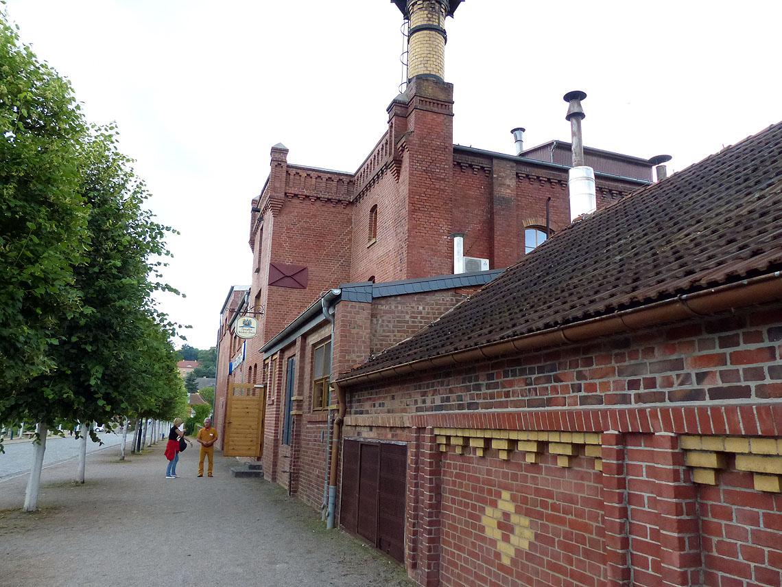 Die altehrwürdige Klosterbrauerei von Neuzelle Foto: Weirauch