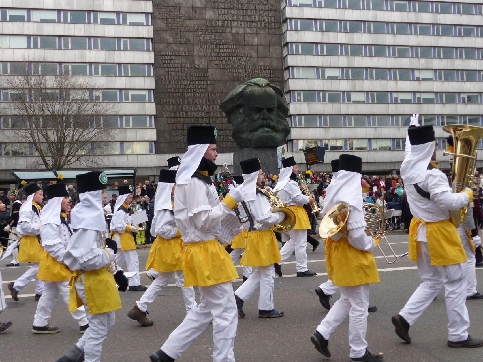 Bergparade Chemnitz 2017