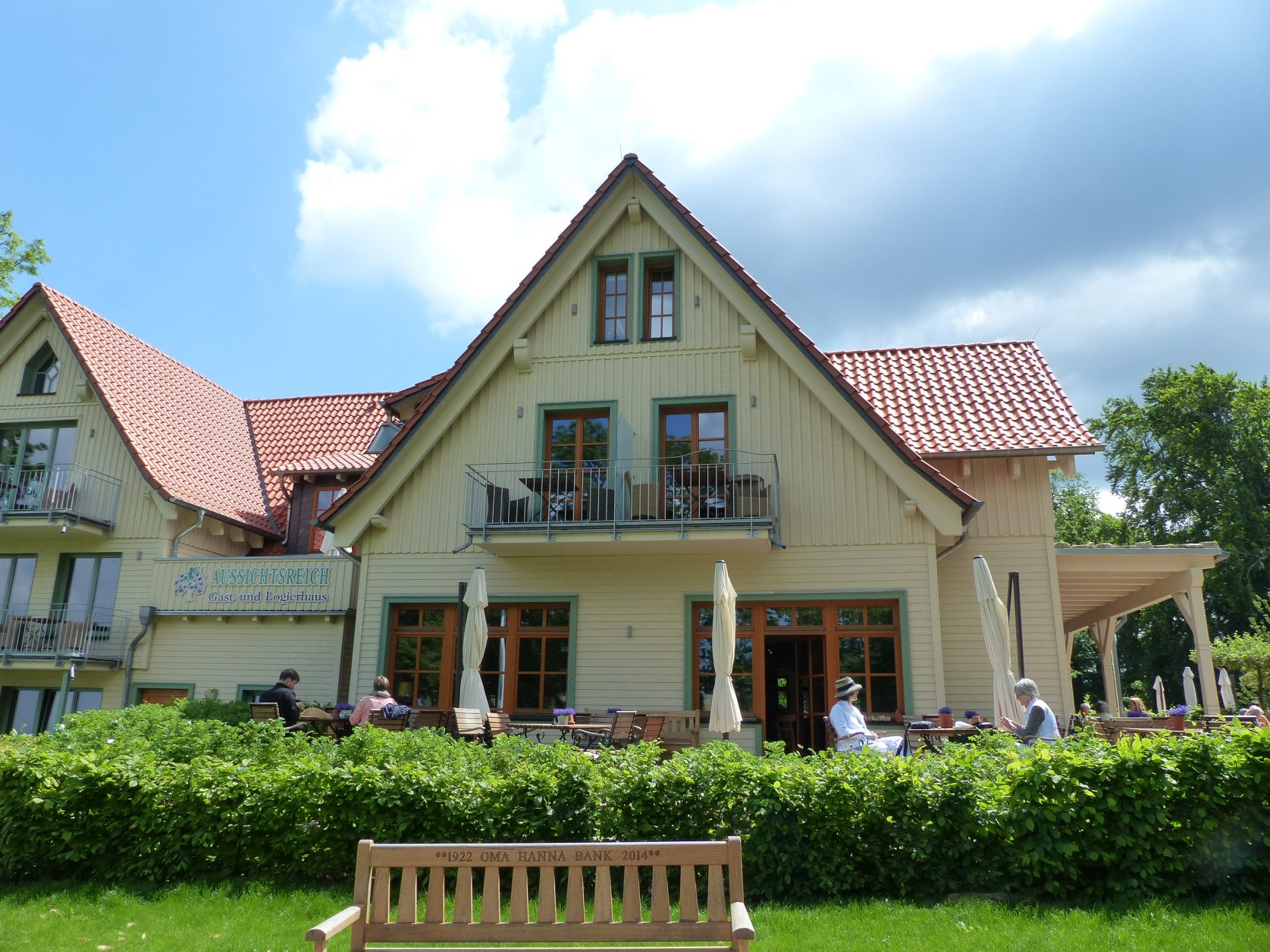 """Das """"Aussichtsreich"""" auf dem Burgberg von Bad Harzburg, Foto: Weirauch"""