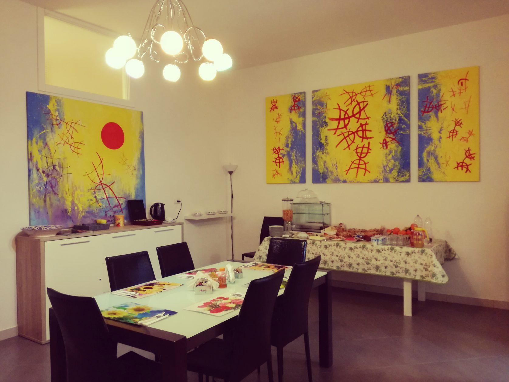 Frühstücksraum im B& Arcona in Serrano (Apulien), Foto: B& Arcona