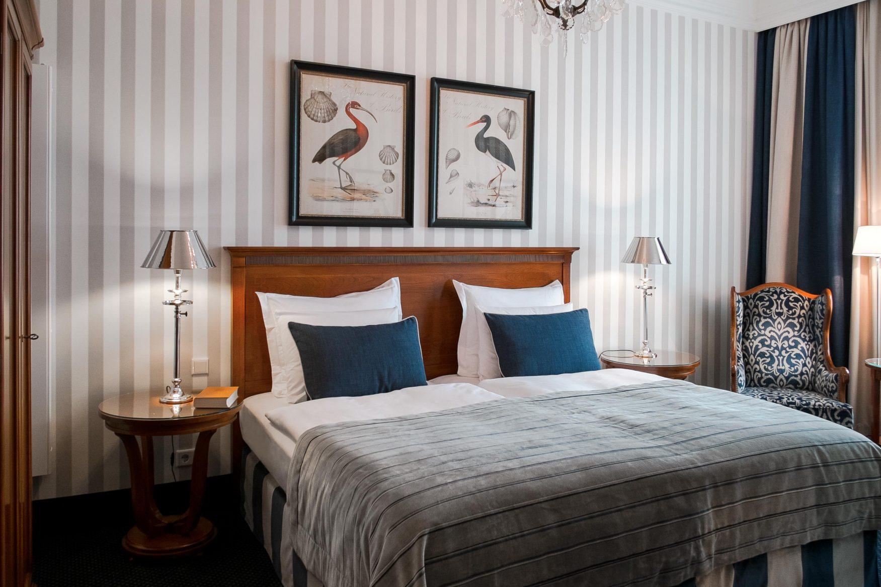 Blick in ein Doppelzimmer © Raphael Hotels