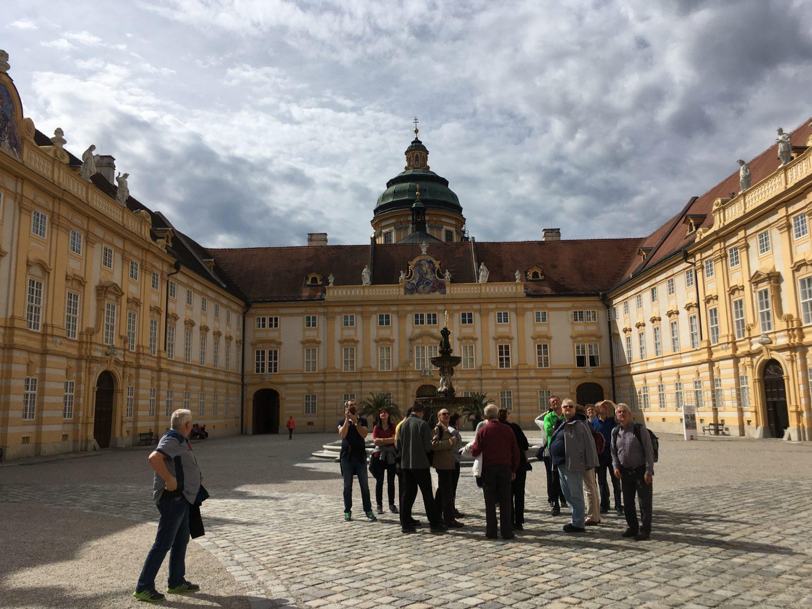 Das Stift Melk ist die größte Klosteranlage des österreichischen Barocks. Foto: Weirauch
