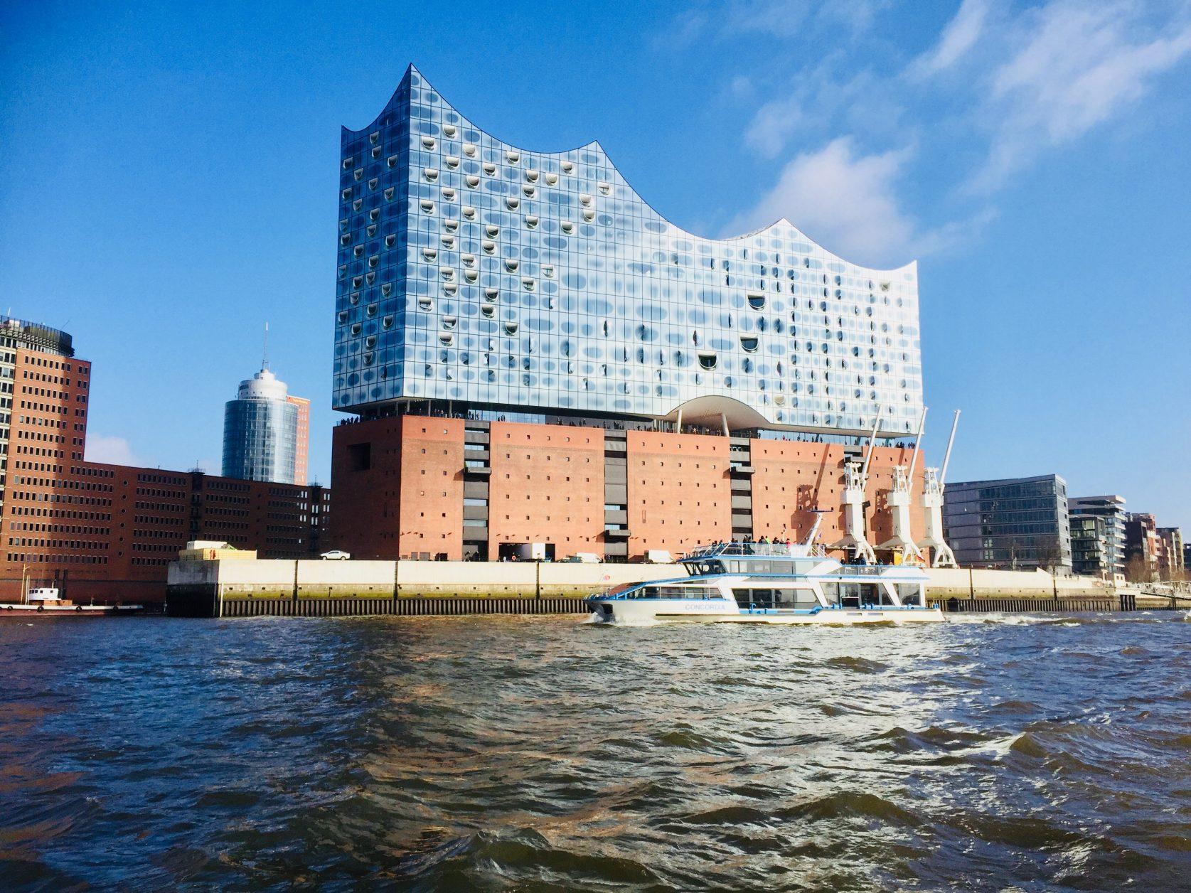 Hamburgs neue Attraktion: Elbphilharmonie Foto: Weirauch