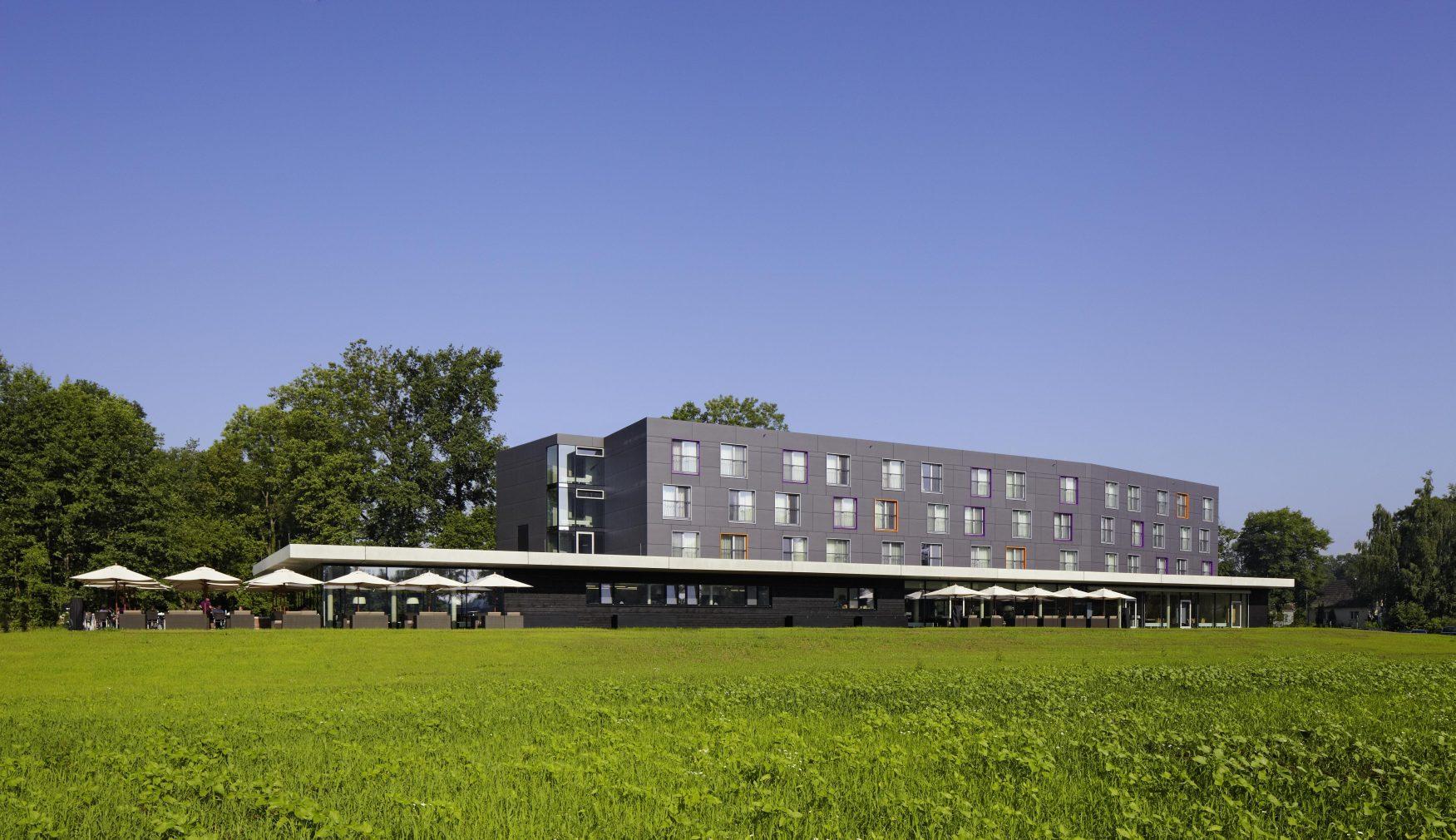 Blick auf das Thermenhotel Foto: Spreewald Therme GmbH