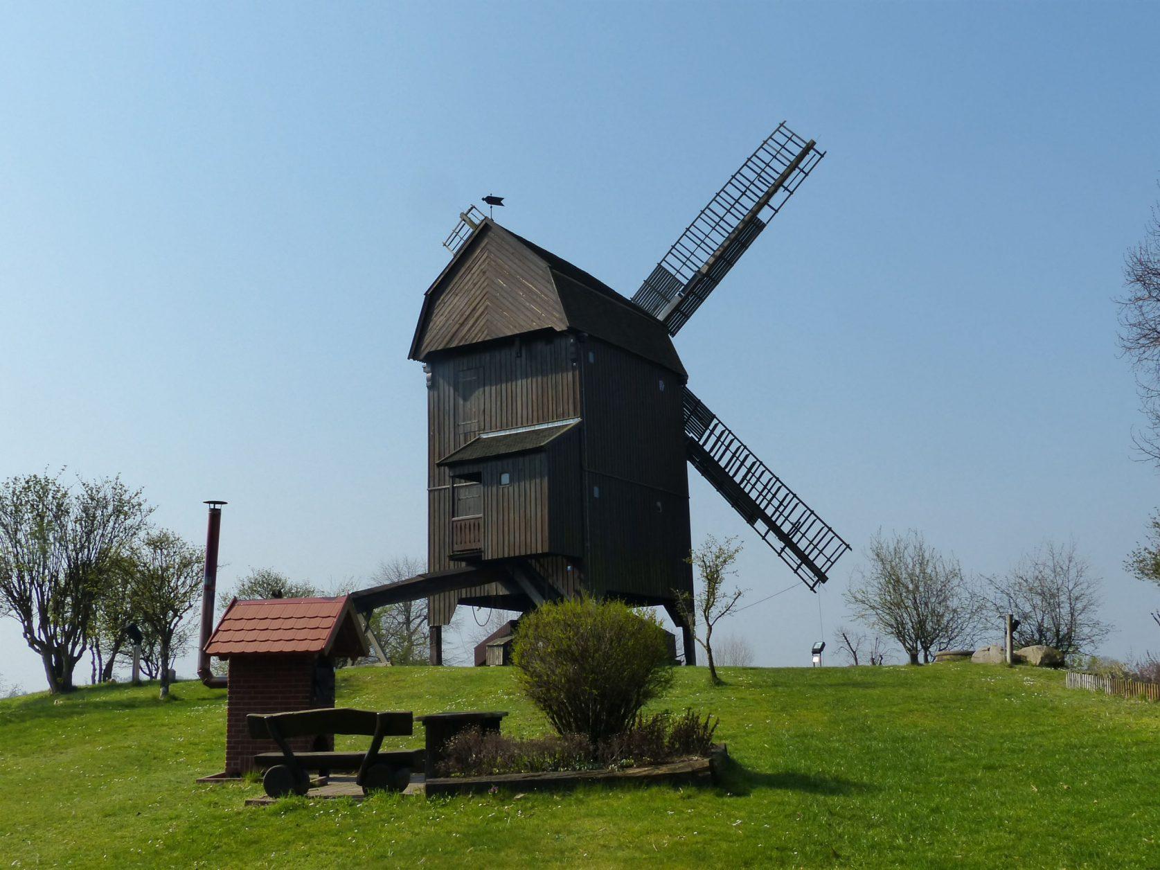 Die Inselmühle von Werder