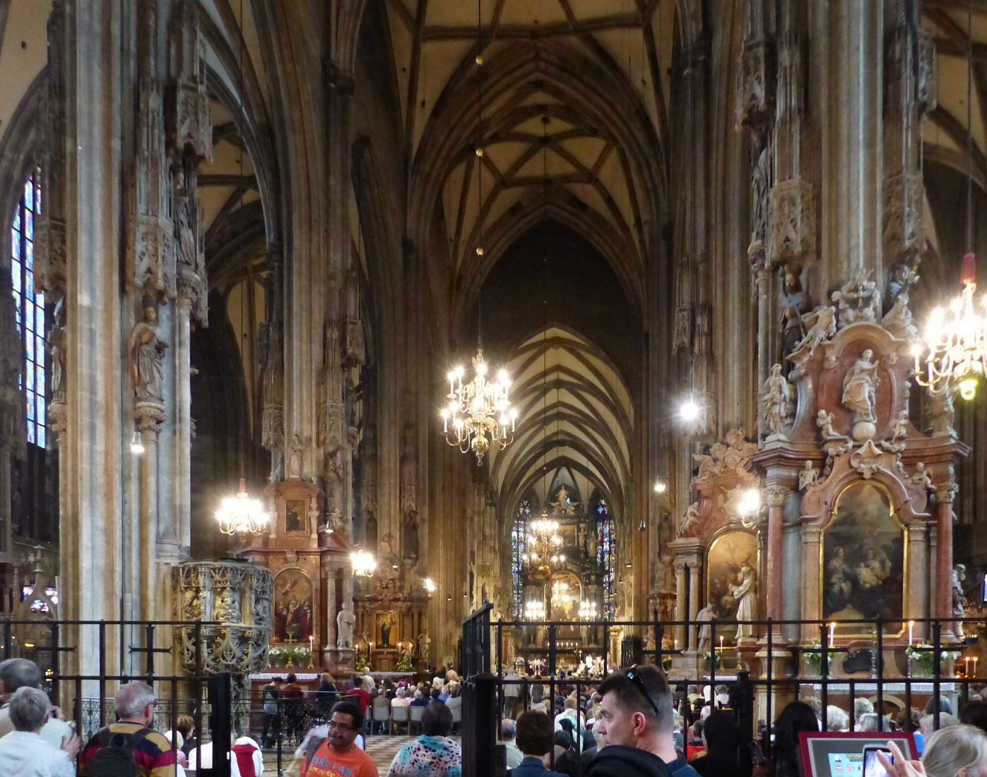 Blick in den Stephansdom, Foto: Weirauch