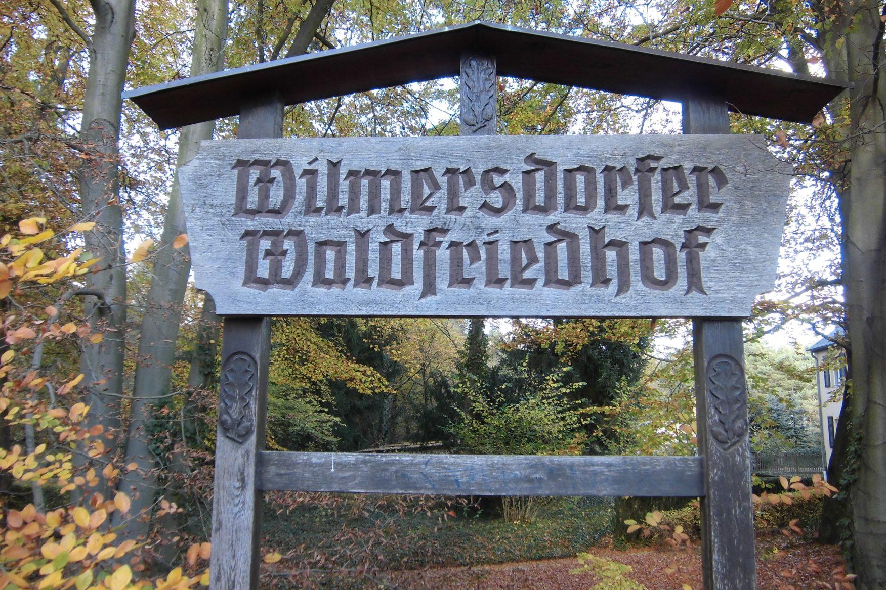 Wilmersdorfer Waldfriedhof Foto: Weirauch