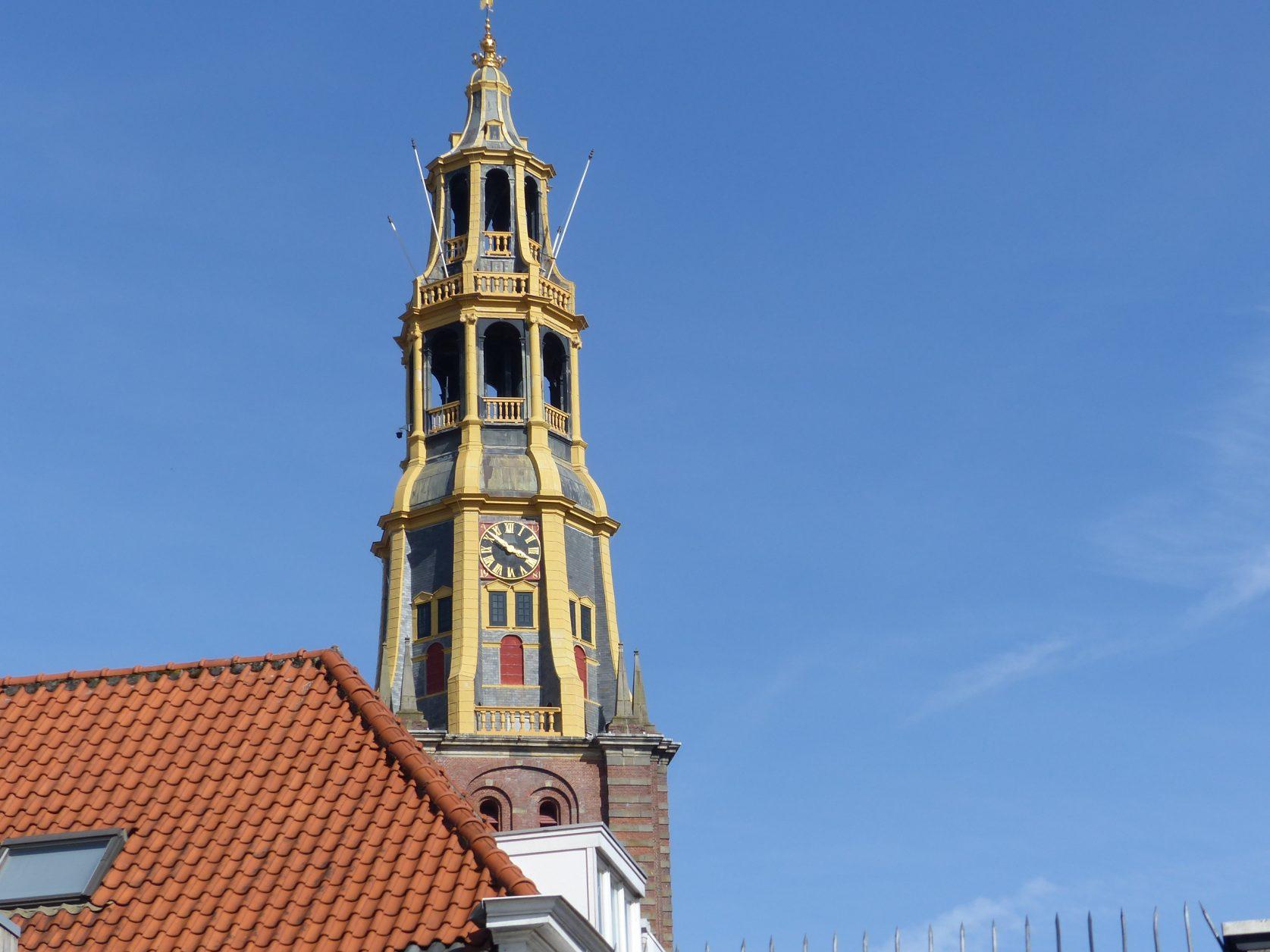 Blick auf die AA-Kirche von Groningen Foto: Weirauch