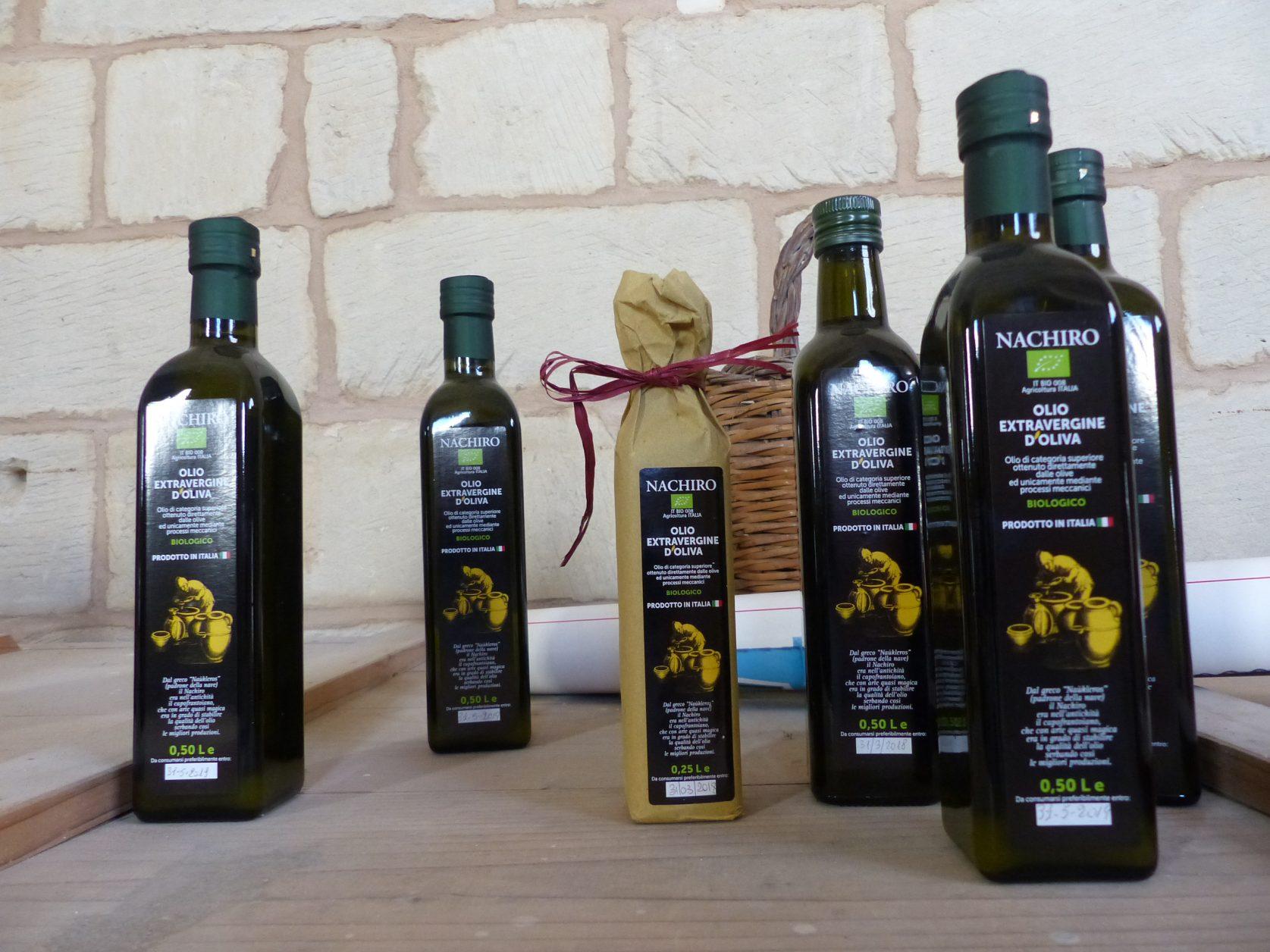 Nicht nur in Italien begehrt ist das Olivenöl von der Azienda Agricola Foto: Weirauch