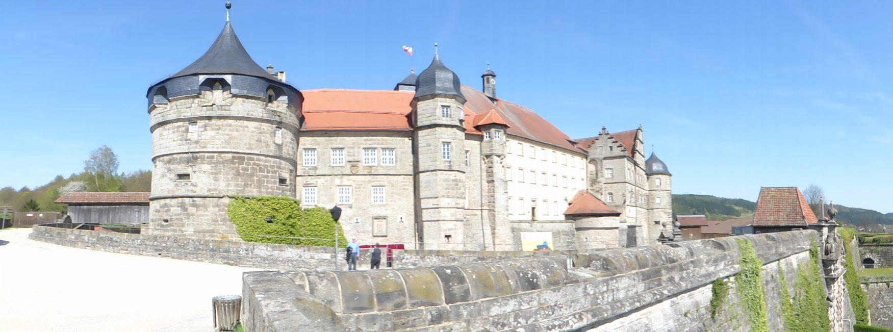 Blick auf die Festung Kronach Foto: D.Weirauch