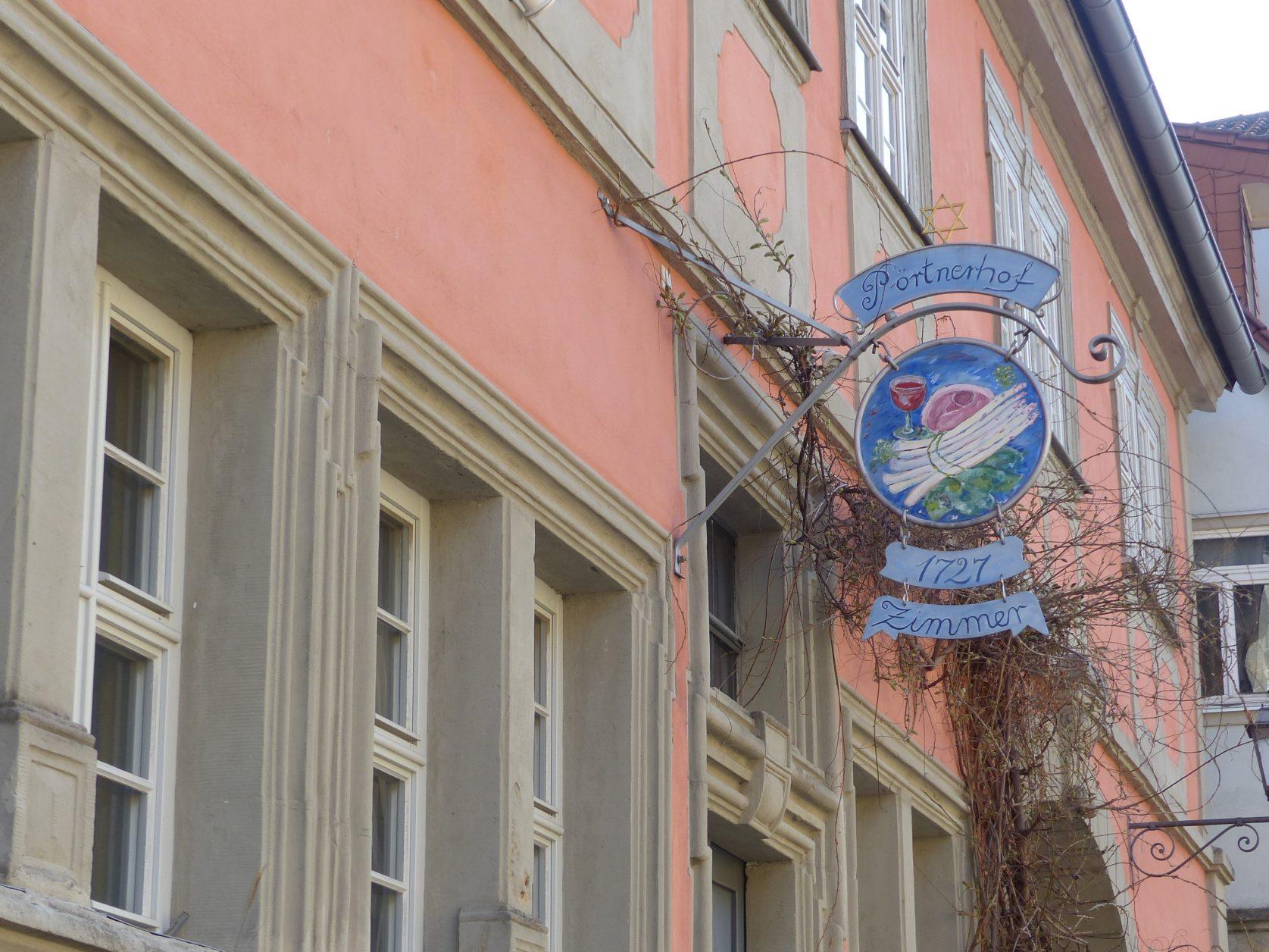 """Bietet mediterrane Küche: """"Pörtnerhof"""" in Sesslach"""
