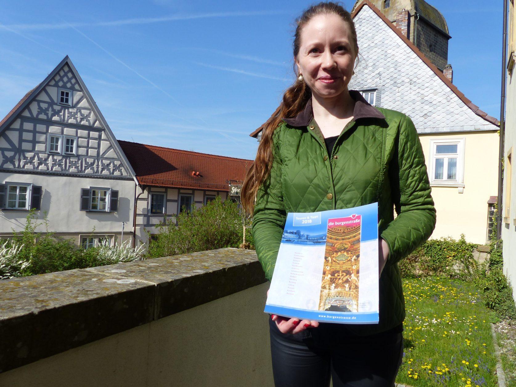 Carolin Franz ist die Tourismuschefin von Sesslach