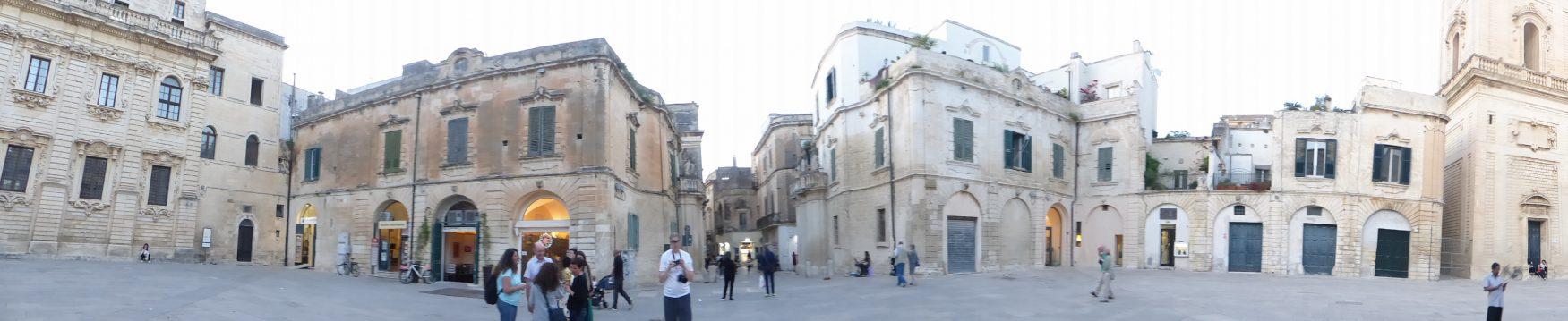 Den barocken Festssaal der Stadt bildet die Piazza Duomo Foto: Kärstin Weirauch