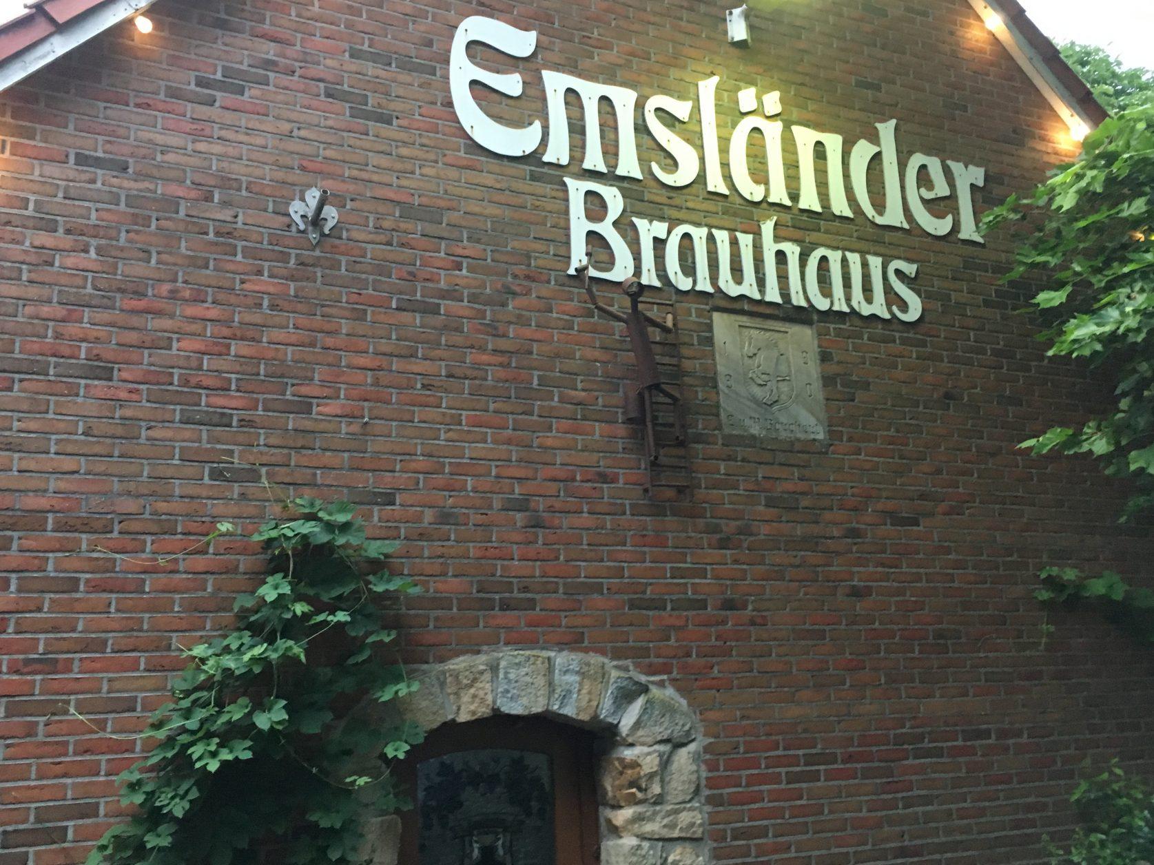 Eine gute Adresse für regionales Bier und gutes Essen: das Emsländer Brauhaus in Lünne