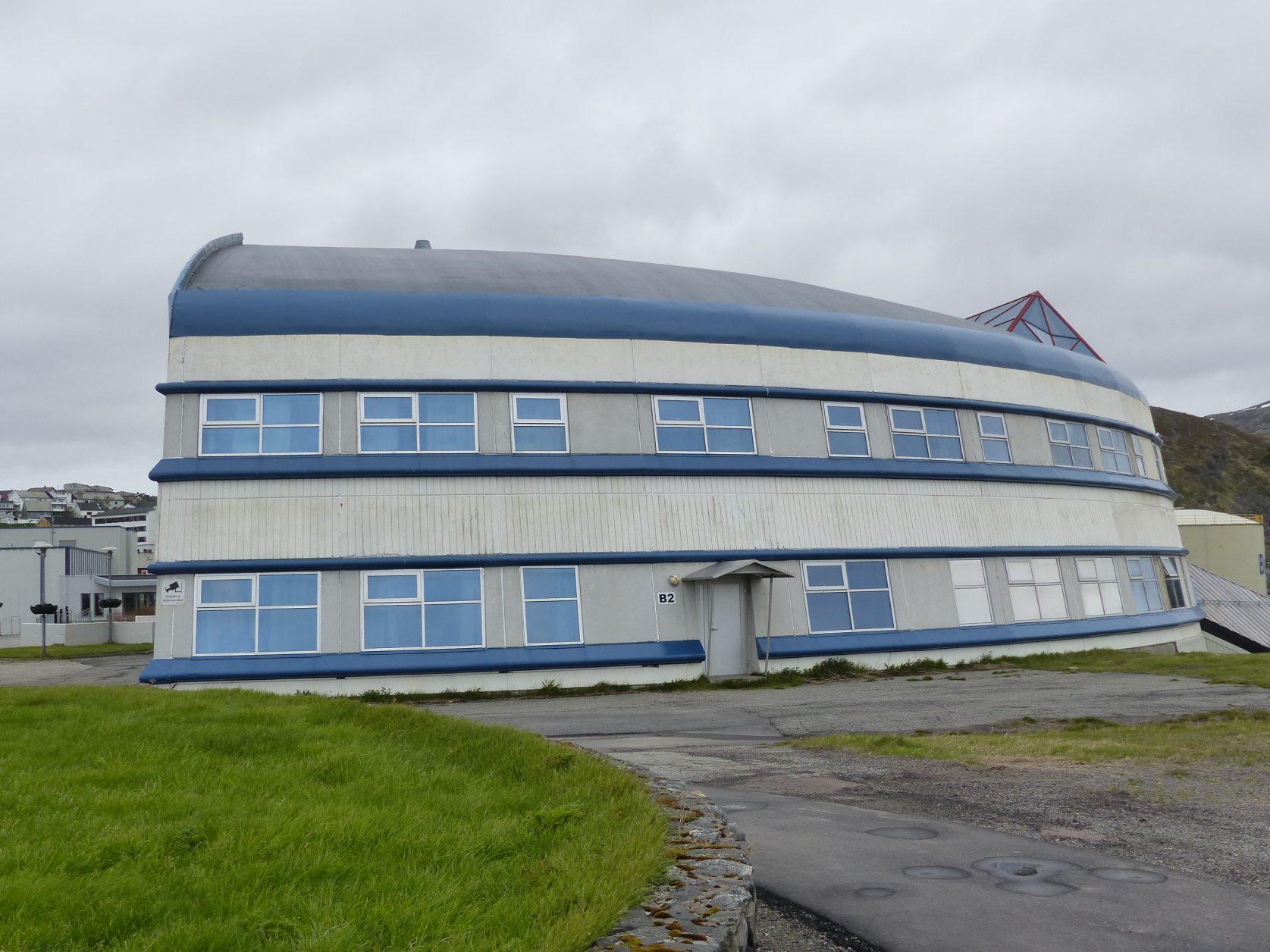 Die Schule von Hammerfest Foto: Weirauch