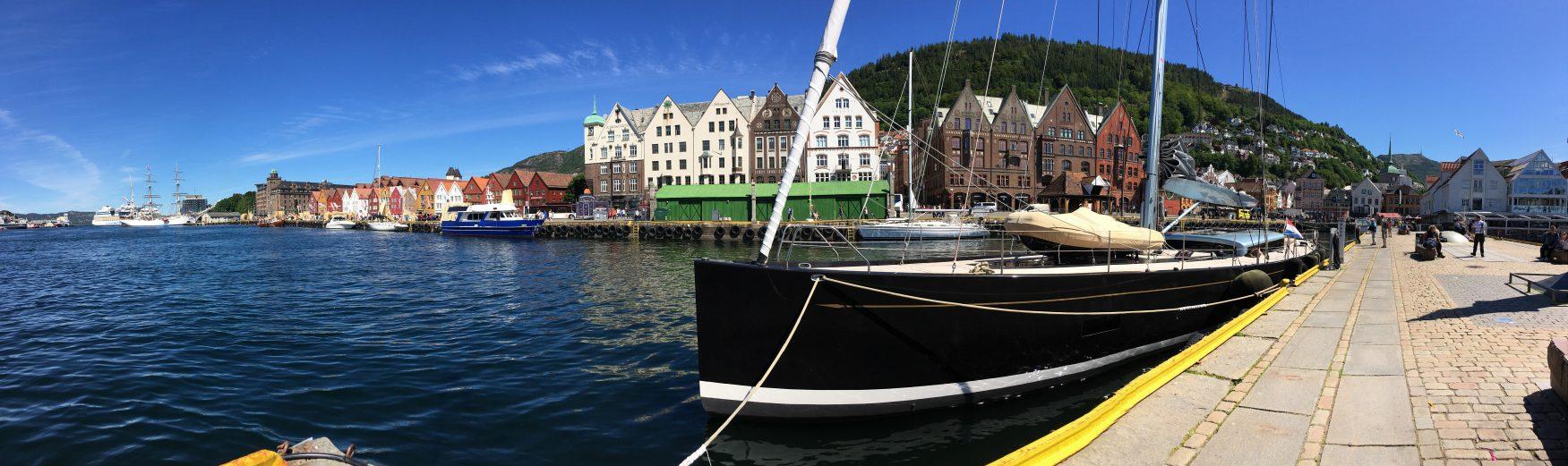 Im Hafen von Bergen Foto: K.Weirauch