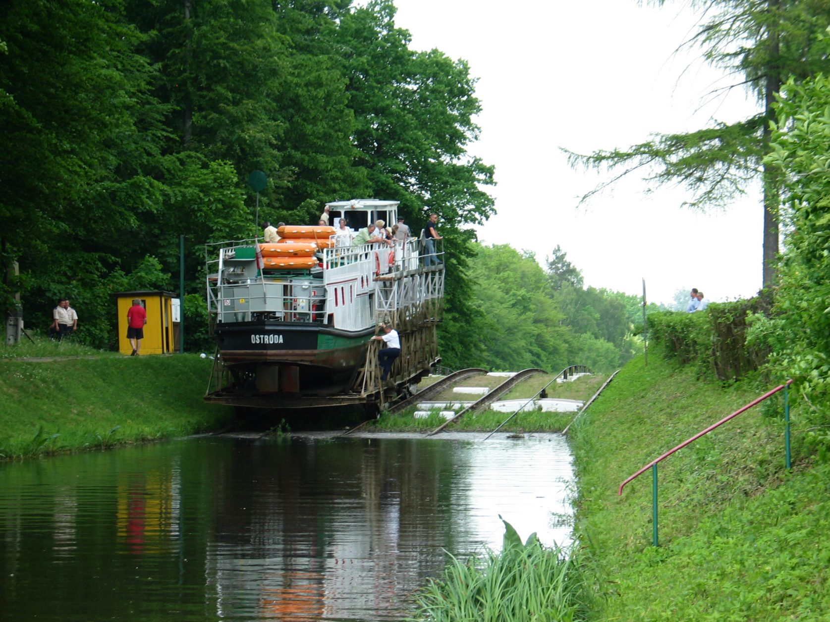 Oberlandkanal Foto: Polnisches Fremdenverkehrsamt