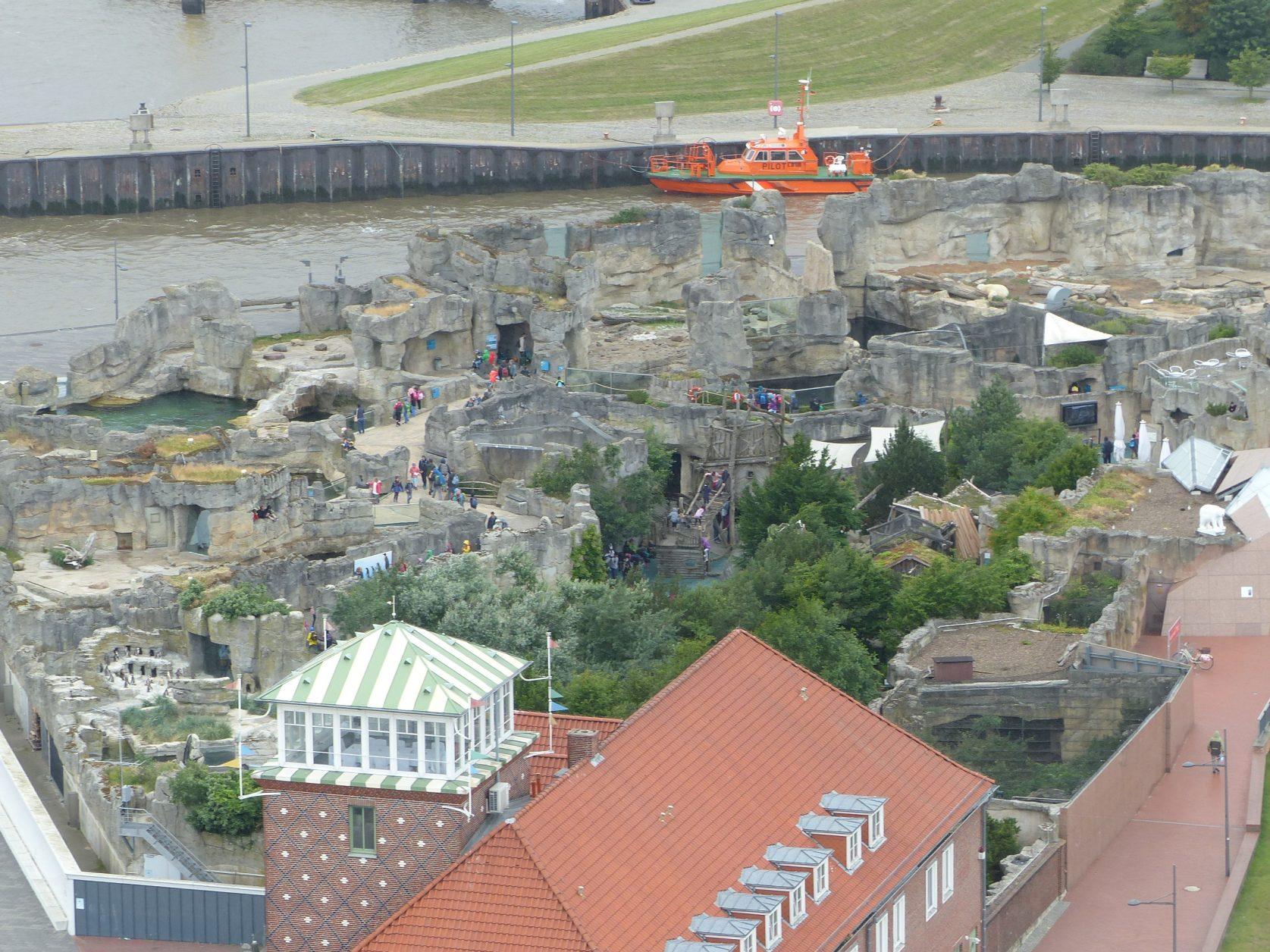 Blick auf den Zoo gegenüber von the liberty Foto: Weirauch