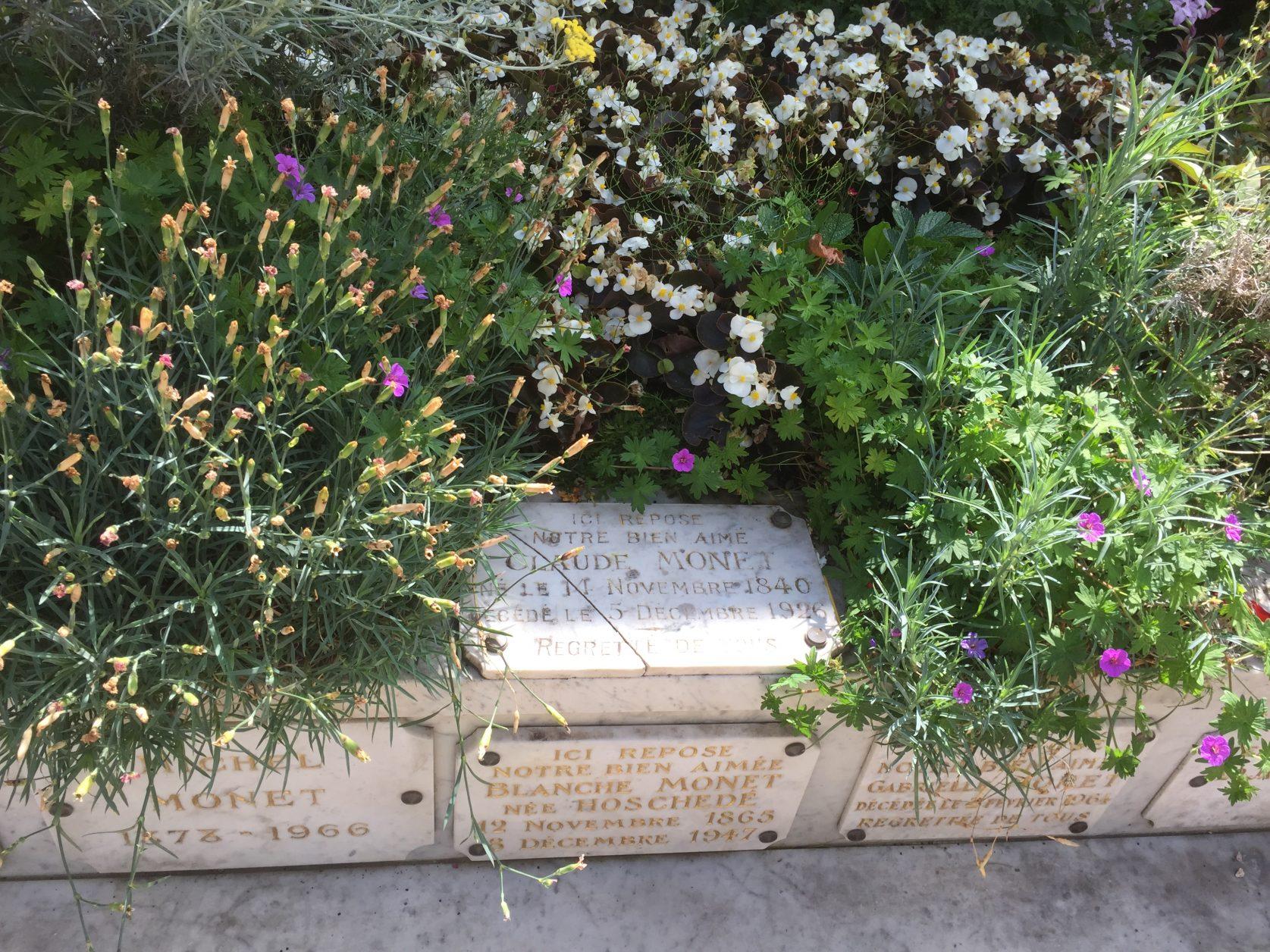Das Grab von Claude Monet in Giverny Foto: Weirauch