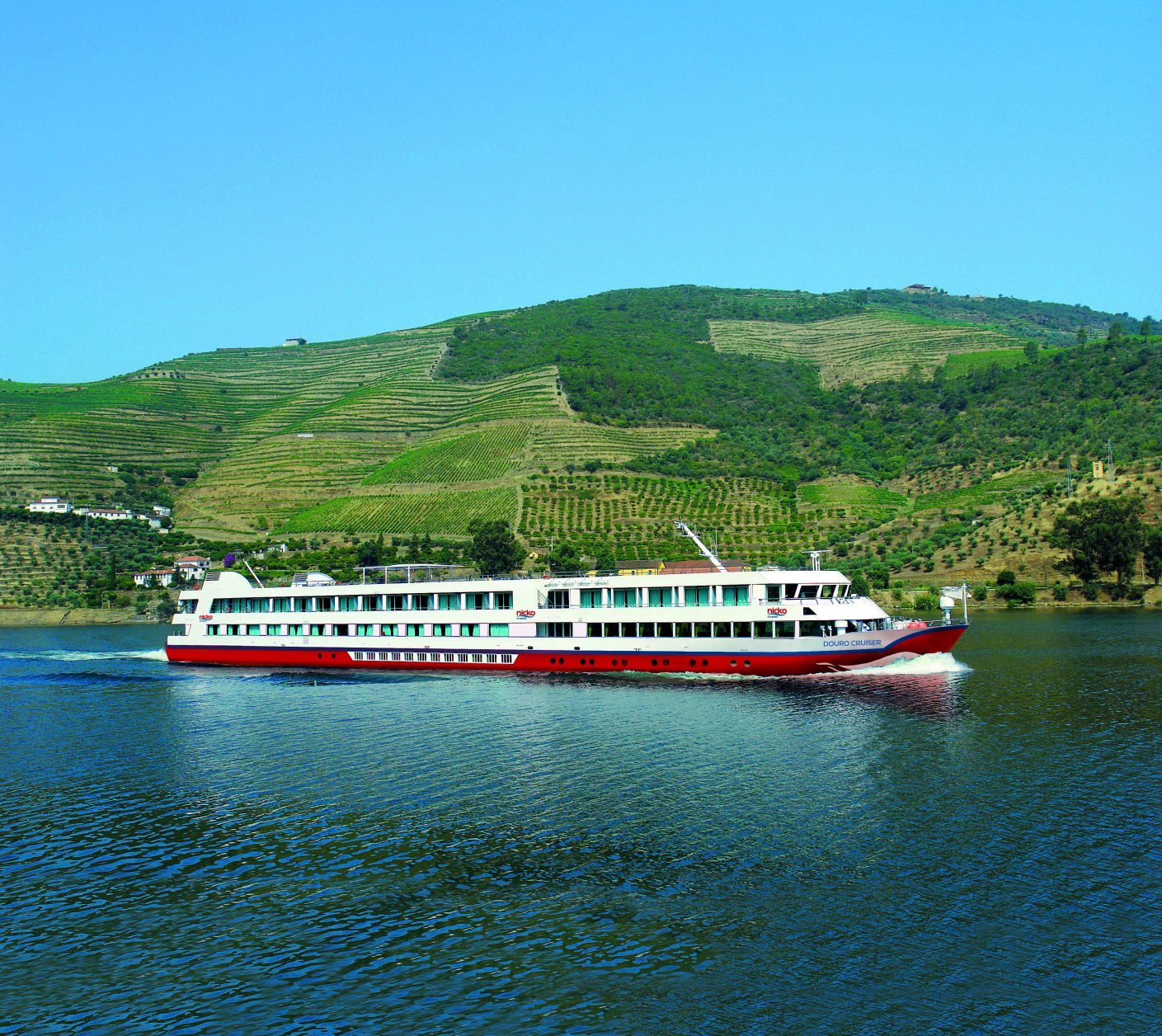 Die elegante Nicko MS Duro Foto: nicko cruises