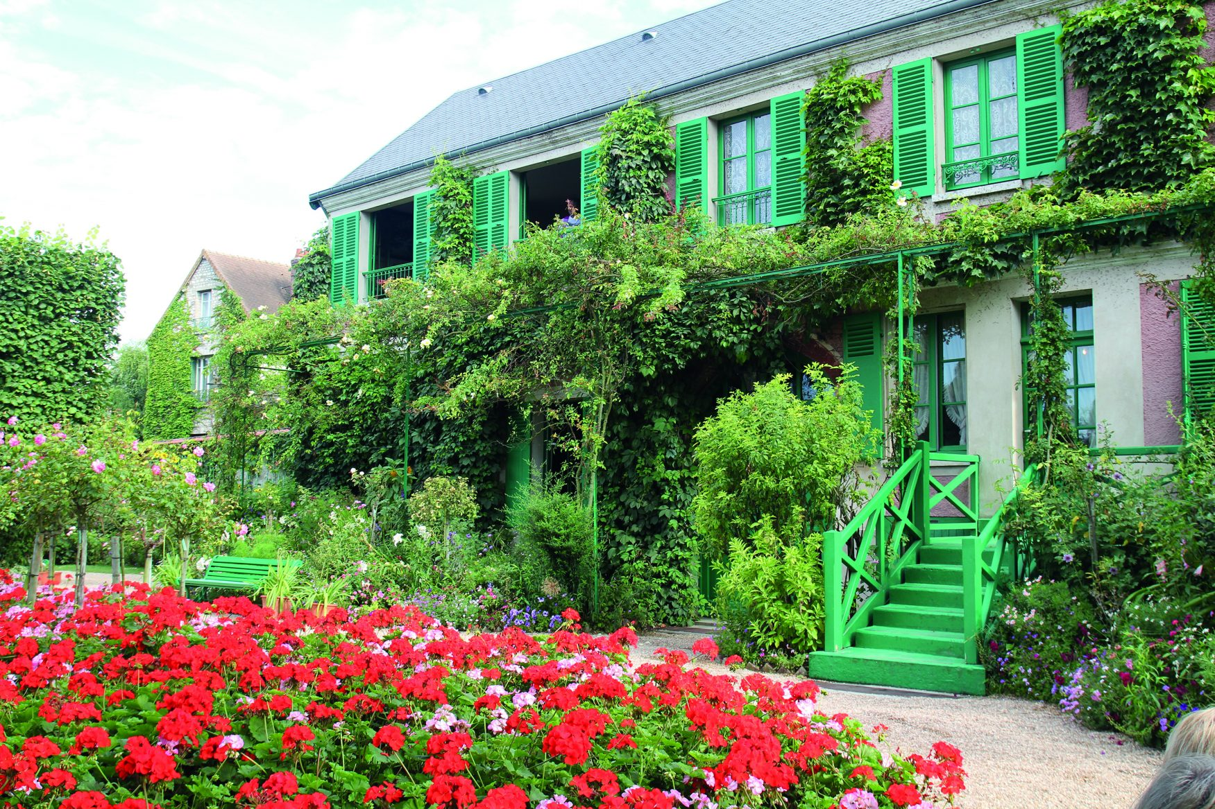 Seine-Giverny-Monethaus