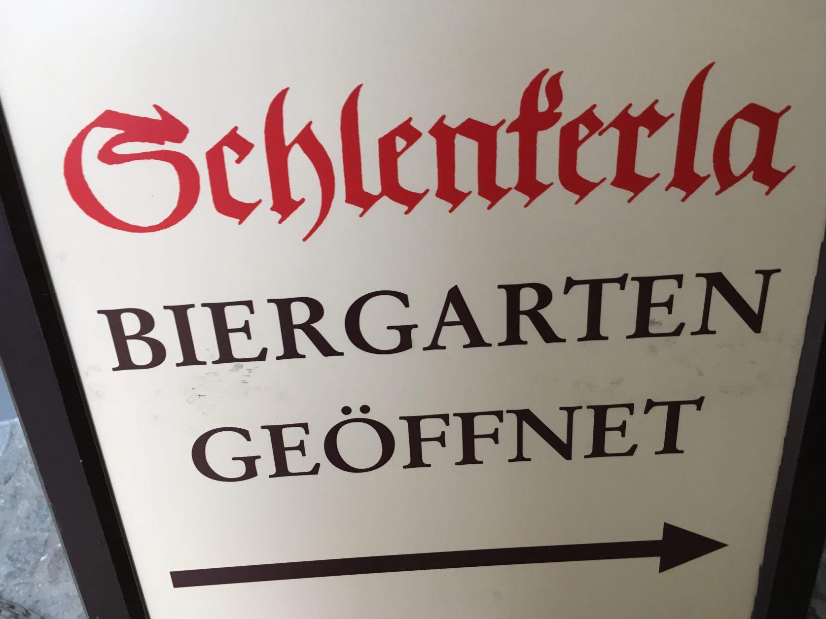 Hier geht es zum Biergarten von Schlenkerla in Bamberg Ffoto: Weirauch