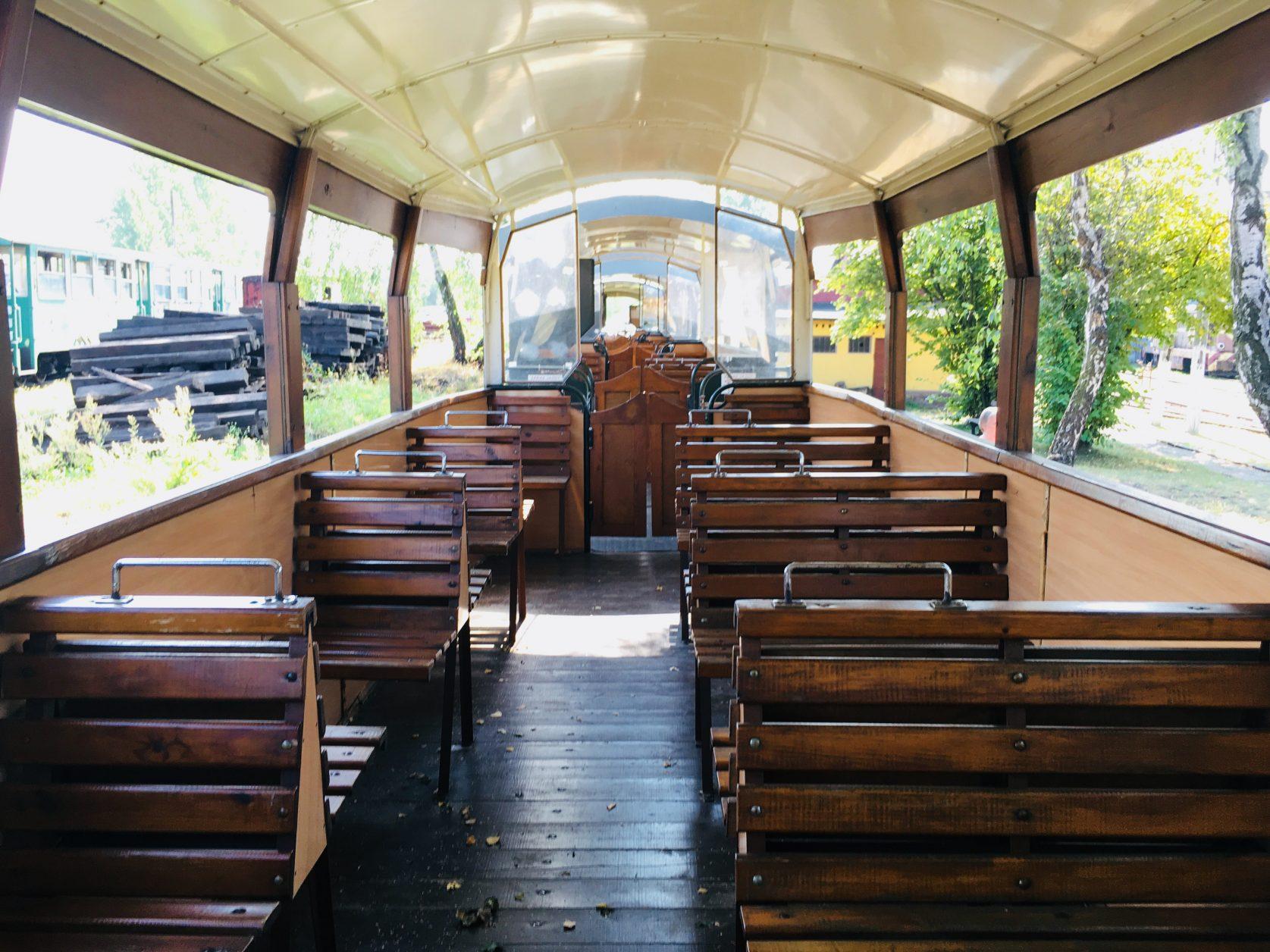 Für Ausflugsfahrten wird der ausgebaute Waggon genutzt