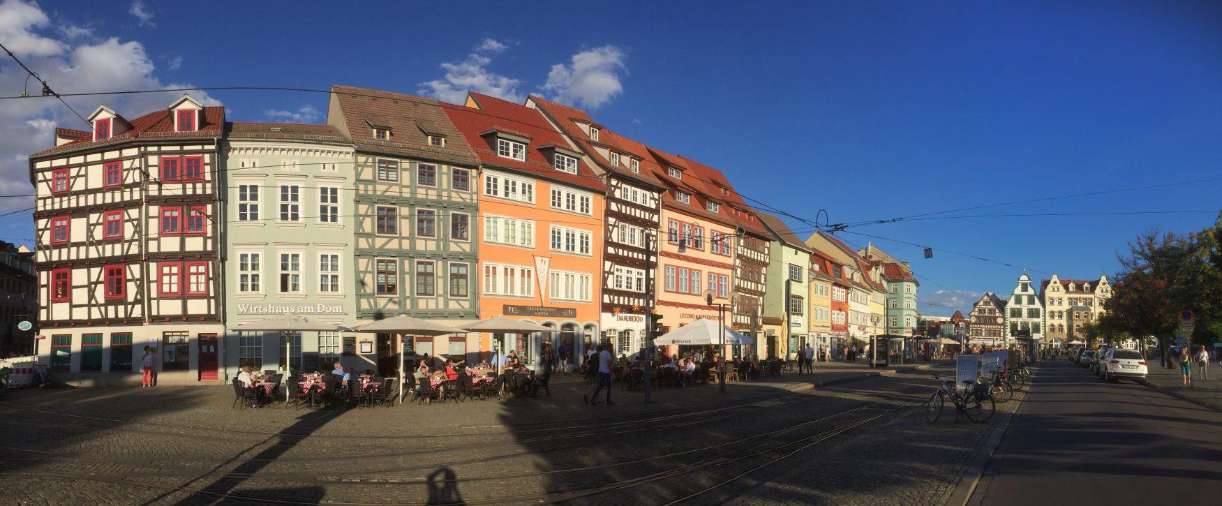 Panorama Erfurt