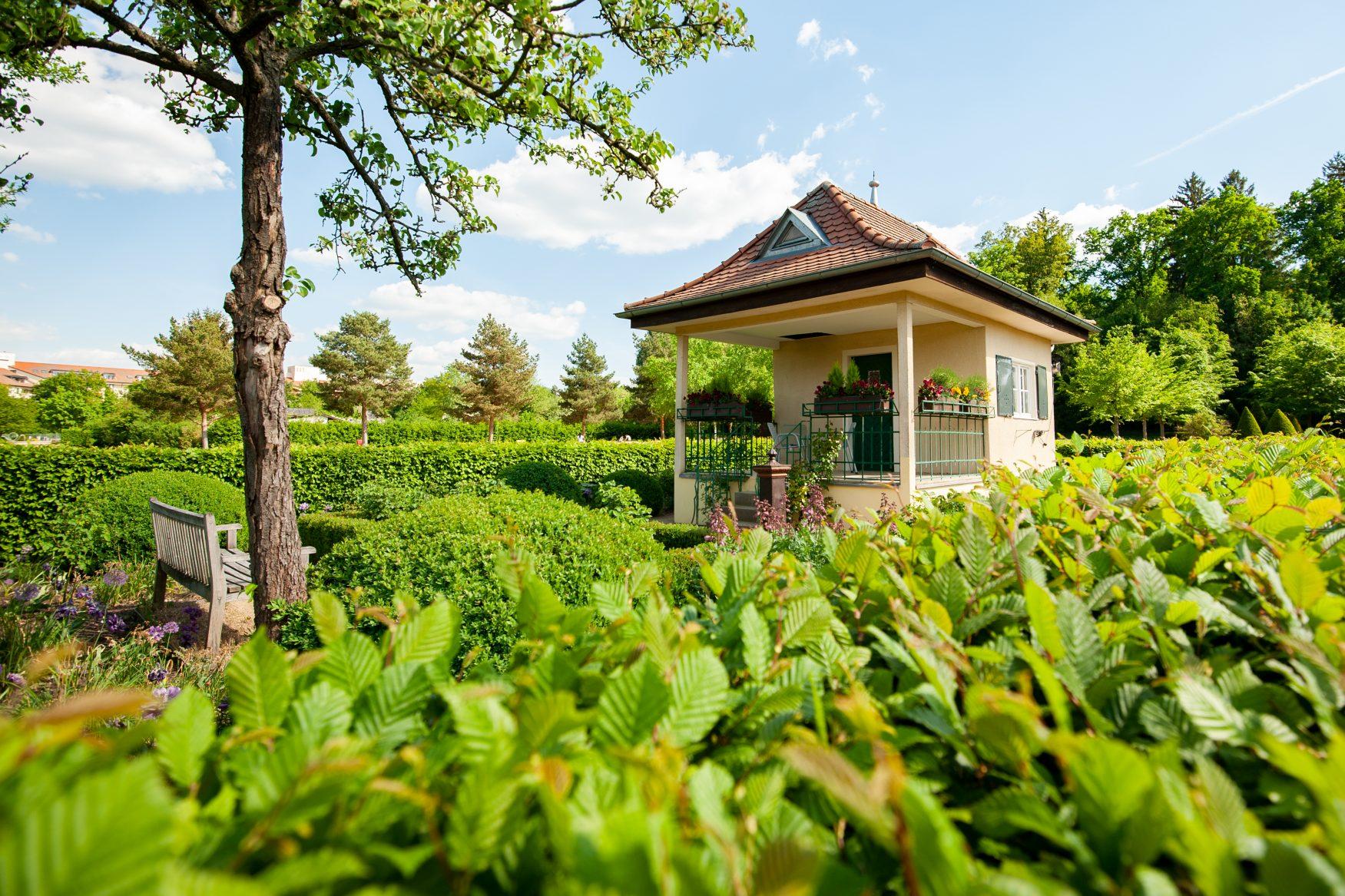 Stadtgarten von Roth Foto: Stadt Roth - Tourist-Information