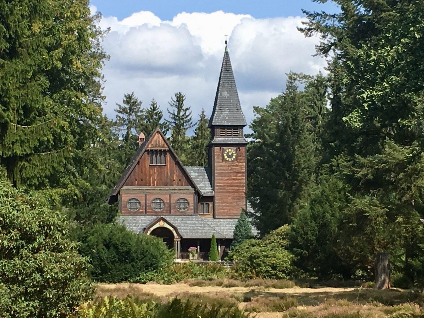 Die norwegische Stabkapelle auf dem Südwestkirchhof, Foto: Weirauch