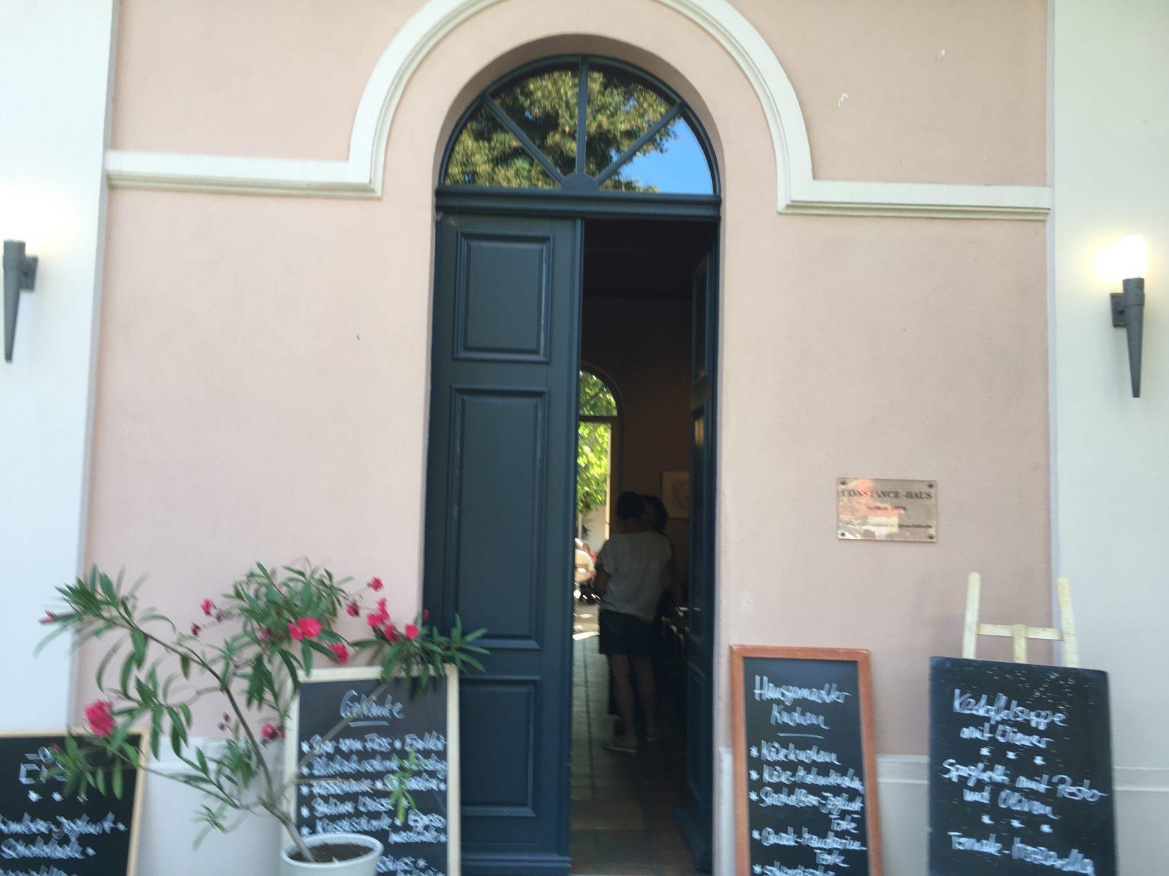 Cafe Constanze in Wustrau ist immer eine gute Adresse, Foto: Weirauch