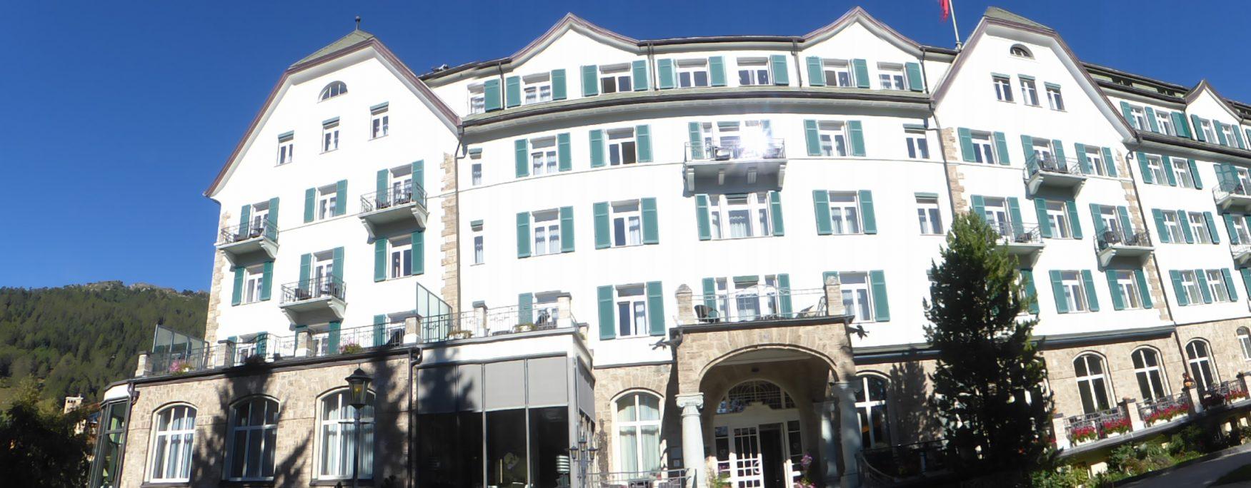 Das Grandhotel Cresta Palace in Celerina im Engadin, Foto: Weirauch