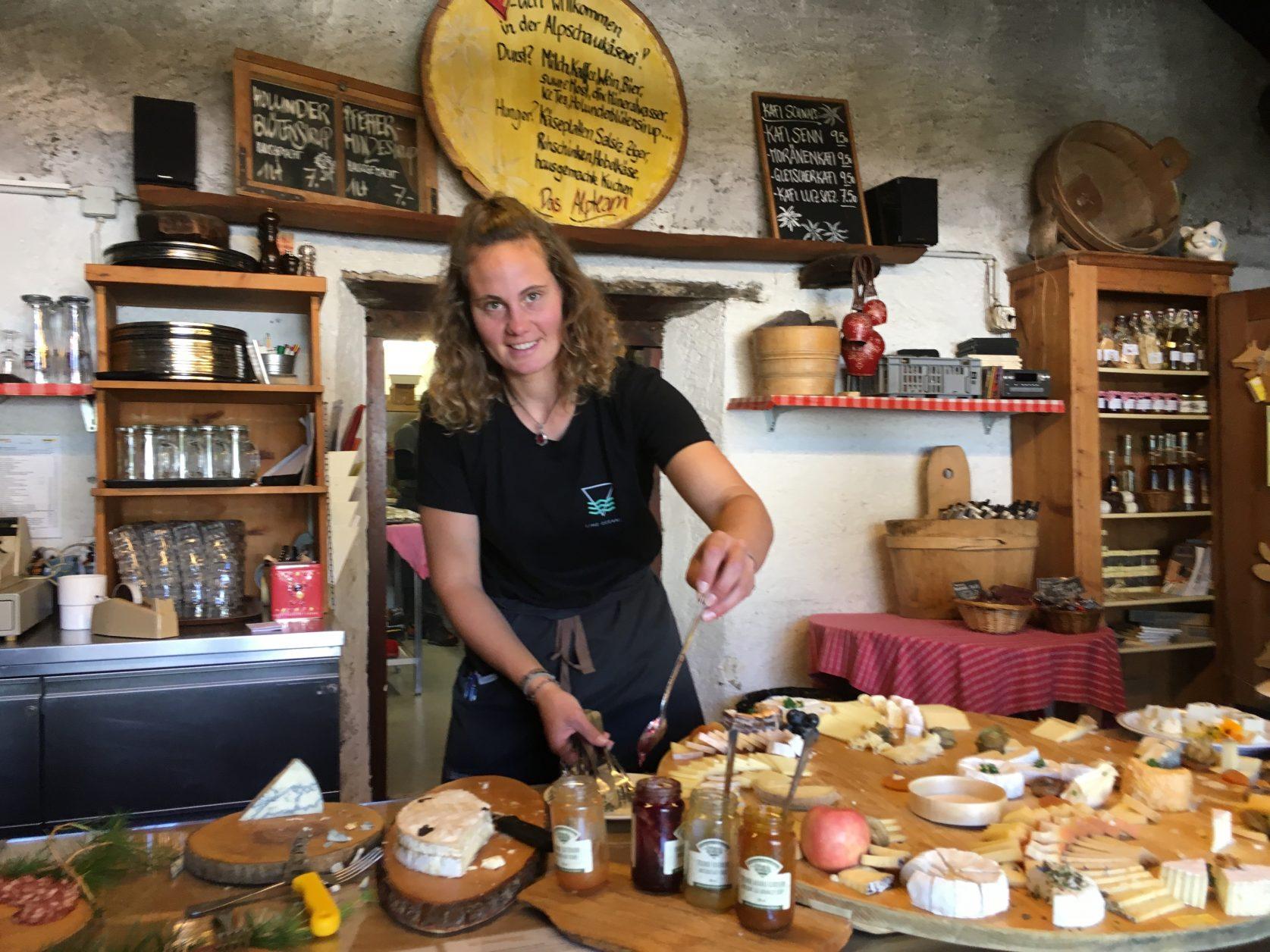 Verführerisch ist die Auswahl an Käse in dr Schaukäserei, Foto: Weirauch