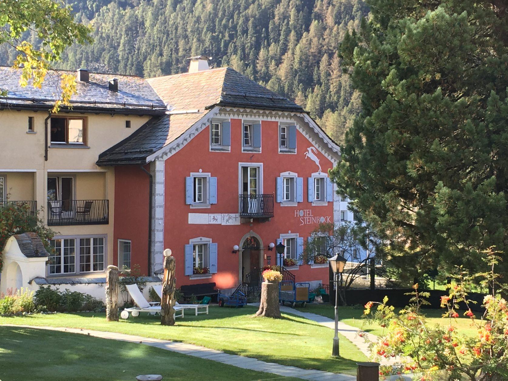 Hotel Steinbock gehört zum Hotel Walther in Pontresina, Foto: Weirauch