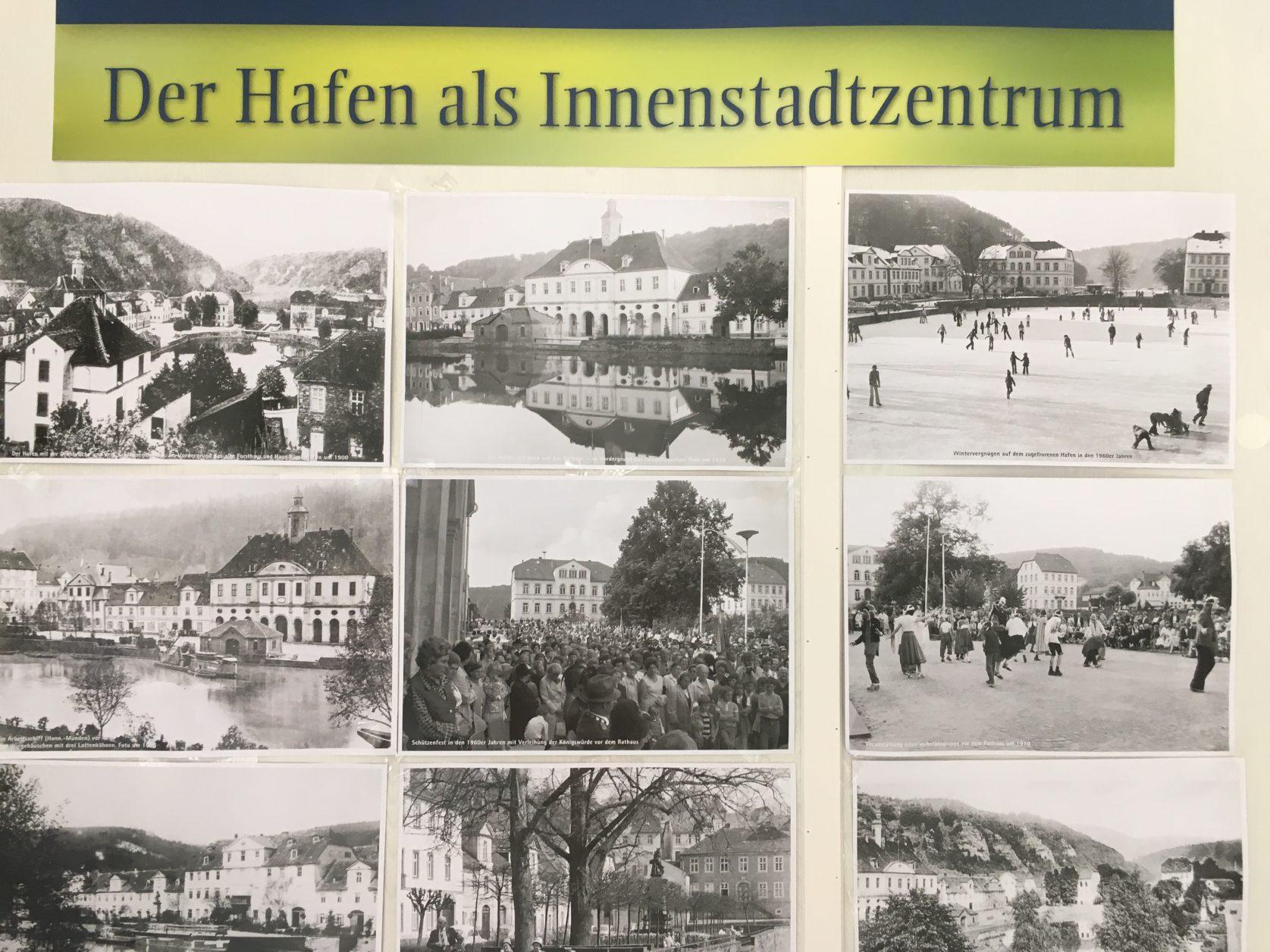 Der Hafen von Bad Karlshafen im Blick der Geschichte