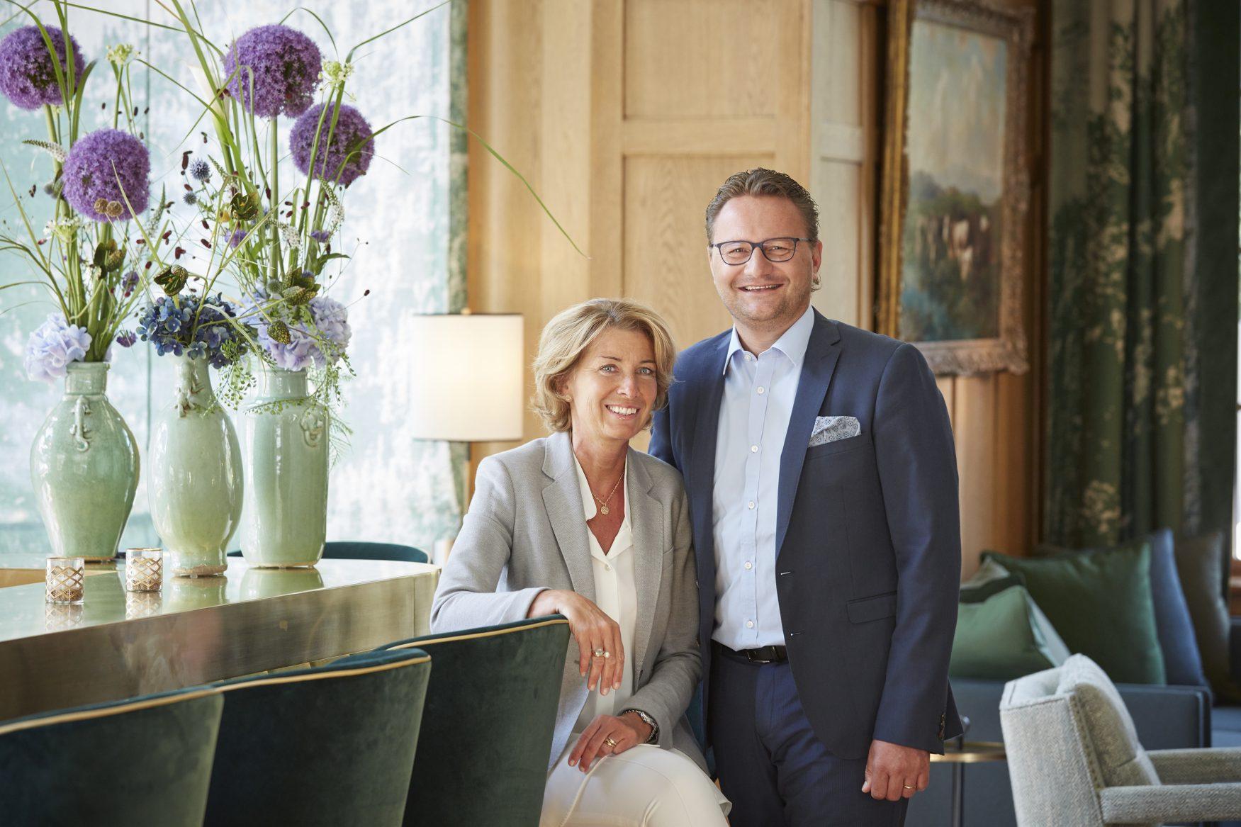 Freundliche Gastgeber sind Anne-Rose und Thomas C. Walther, Foto: hotelwalther.ch