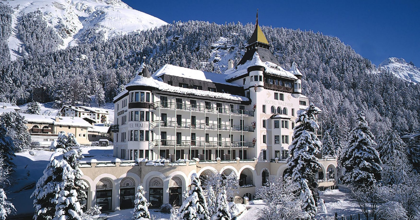 Ein Traum auch im Winter: Hotel Walther in Pontresina, Foto: hotelwalther.ch