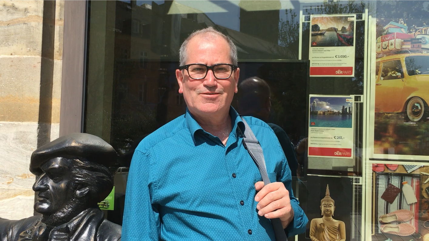 Freut sich über mehr Besucher: Der Pressesprecher von Bayreuth Tourismus, Foto: Weirauch