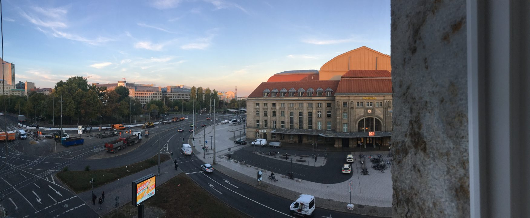 Mitten in der City von Leipzig, beste Verkehrsanbindung, gegenüber der Leipziger Hauptbahnhof, Foto: Weirauch