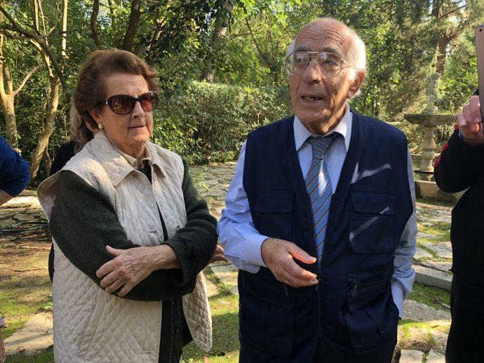 Eva und Dr. Rafael de Georgi sind Hüter eines wertvollen Anwesens