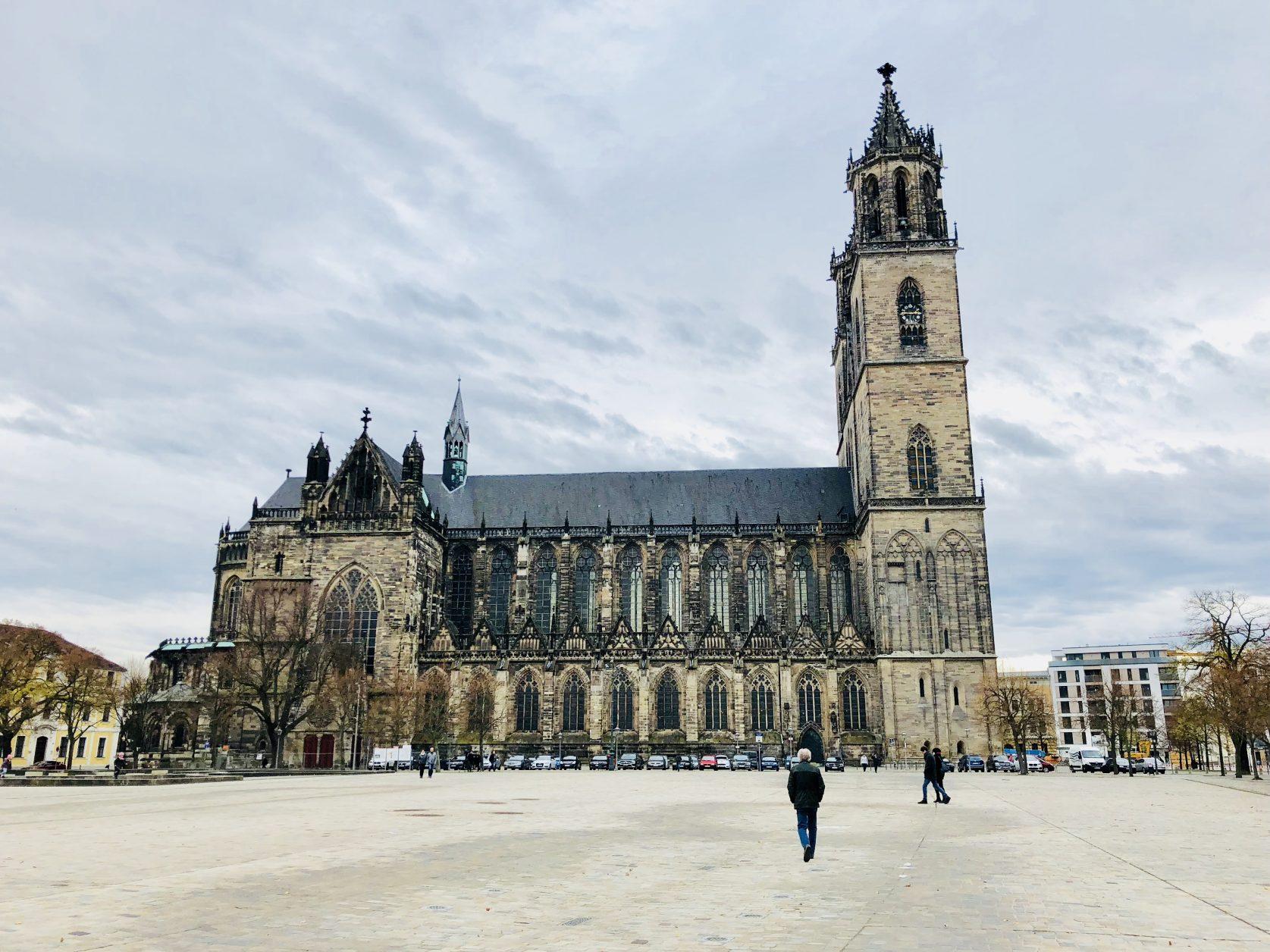 Der Magdeburger Dom ist die erste von Anfang an gotisch konzipierte und die am frühesten fertiggestellte Kathedrale der Gotik auf deutschem Boden, Foto: Weirauch