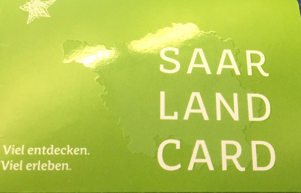Mit der Gästekarte Saarland Card im Gepäck entdecken Sie 85 Ausflugsziele im Saarland und über die Grenzen hinaus kostenfrei und genießen freie Fahrt mit Bus & Bahn im Saarland!