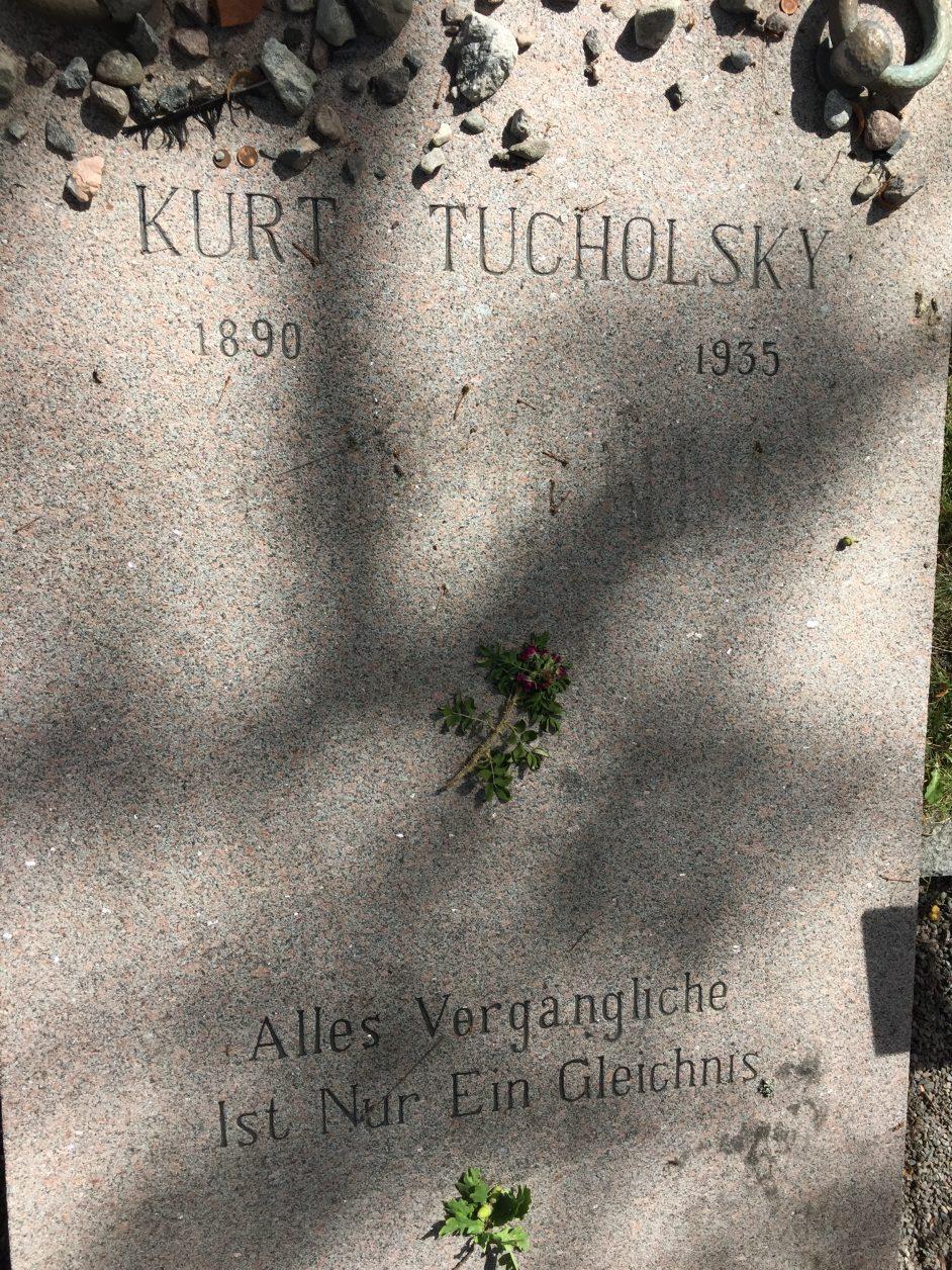 Grab Kurt tucholsky