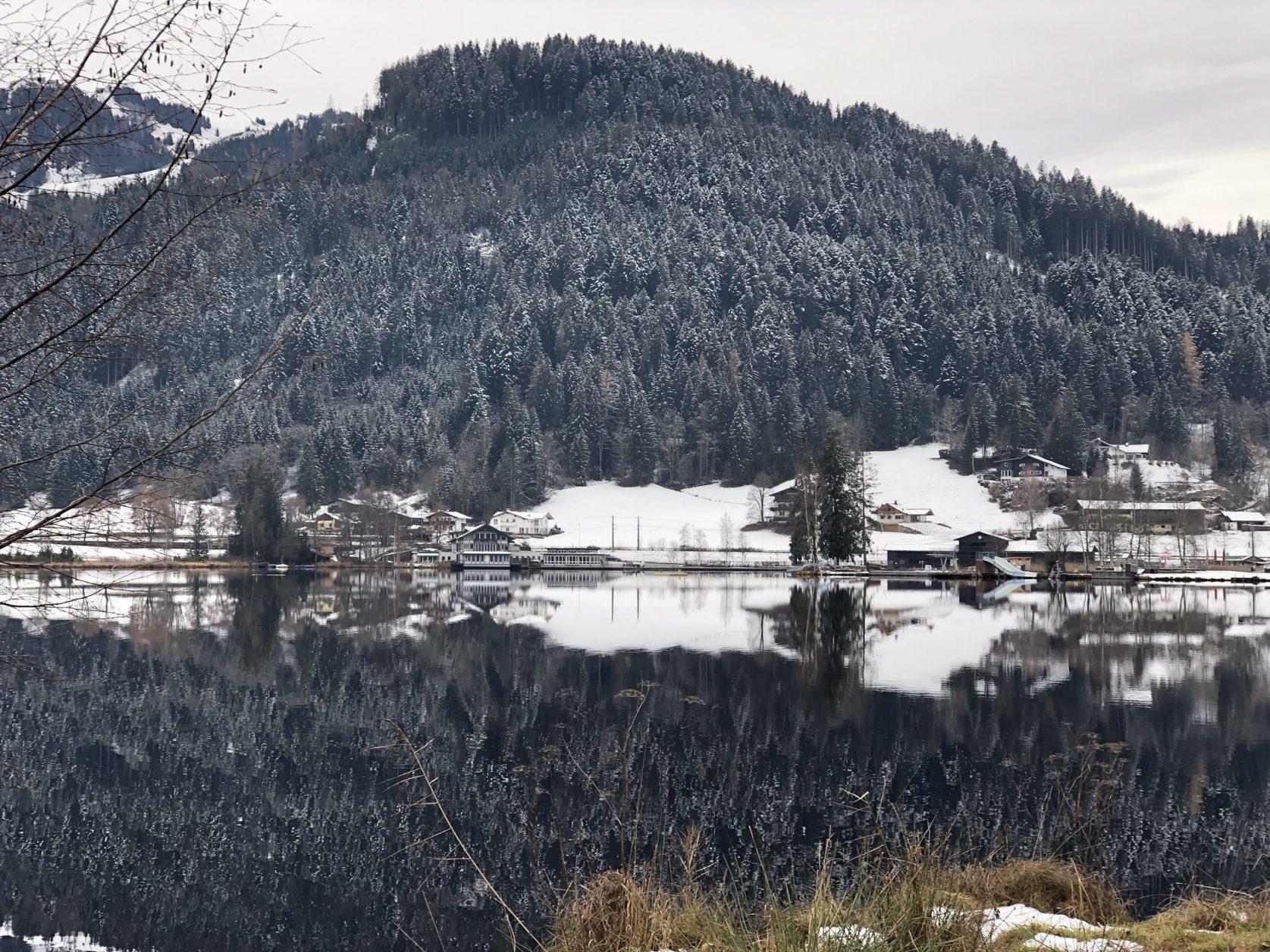 Wandern zum, Schwarzsee
