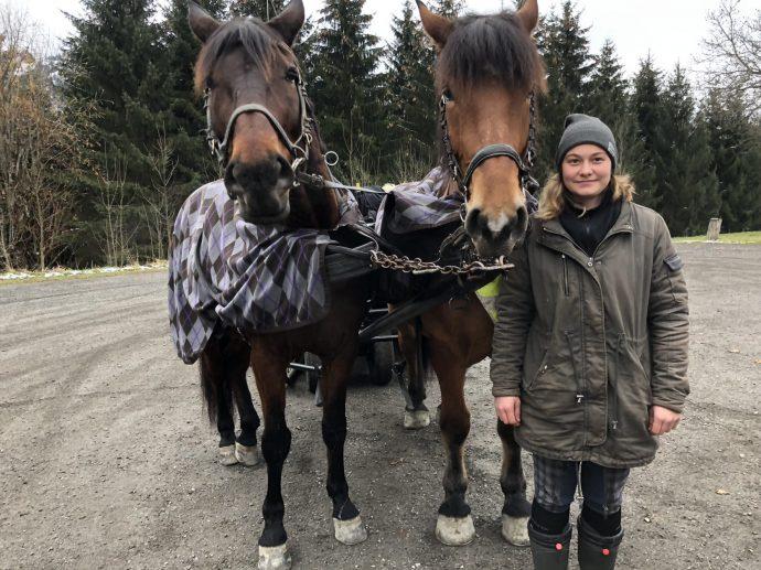 Alexandra ist die jüngste Pferdefachwirtin in Kitzbühel