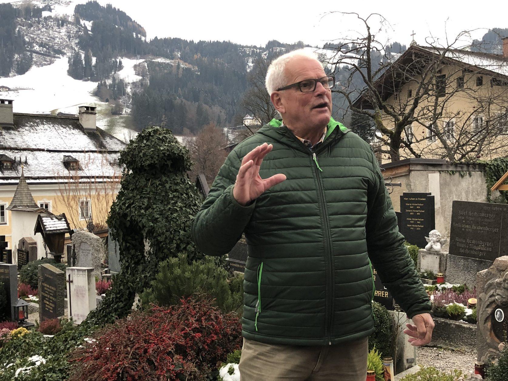 Stadtführer Peppi Treichel kennt viele Geschichten