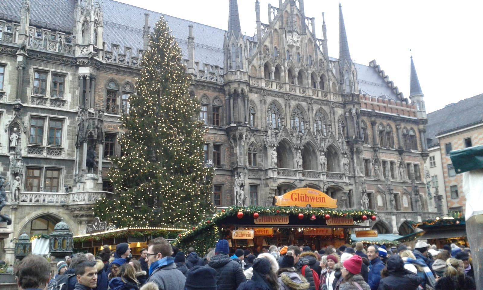 Weihnachtsmarkt München, Foto: Günter Knackfuß