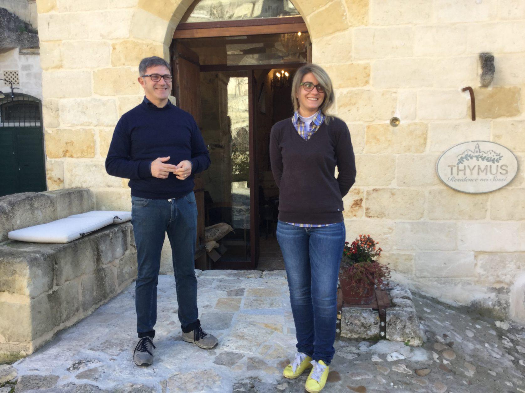 Das team der Thymus Residenz in Matera, Foto: Weirauch