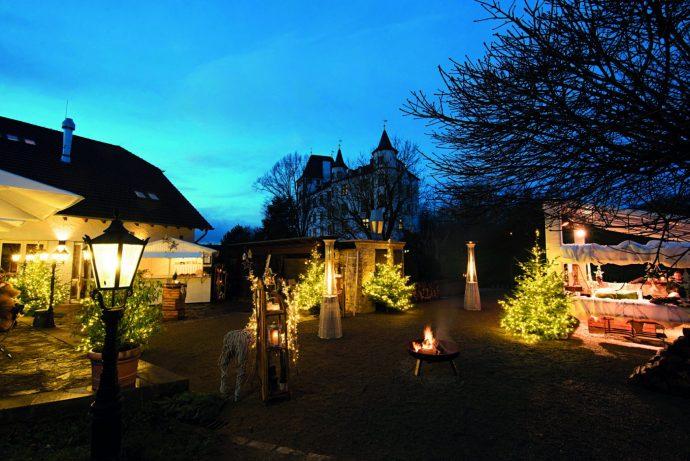 Weihnachtswelt Schloss Berg Foto: Victor´s Resdienz Hotels