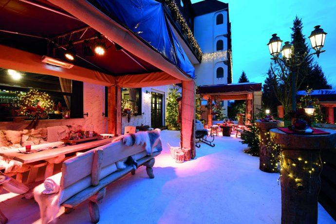 Weihnachtswelt im Weingärtners Victor`s Residenz Hotel am Bostalsee: Foto: Victor´s Residenz Hotels